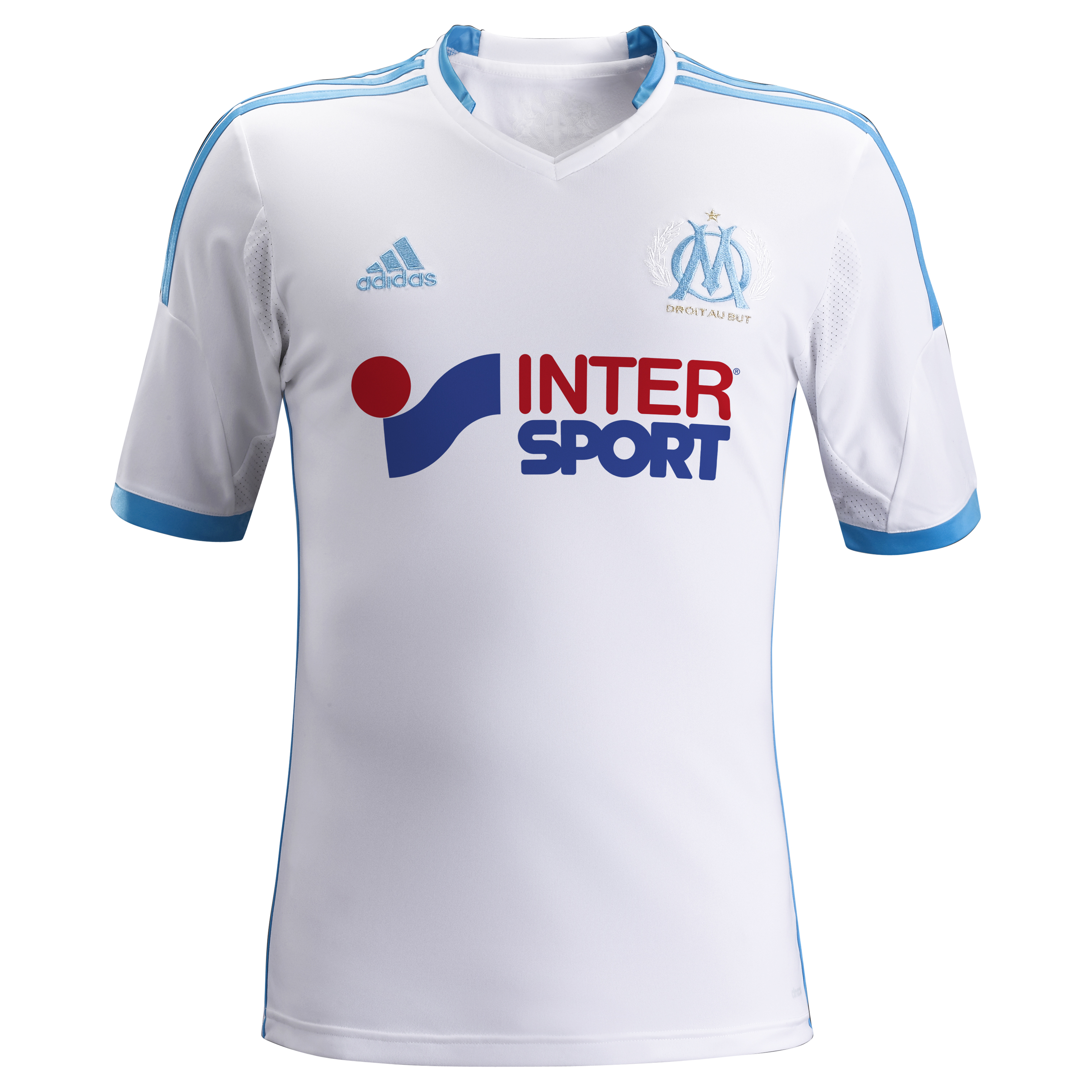 Olympique de Marseille Home Shirt SS 2013/14 - Kids White