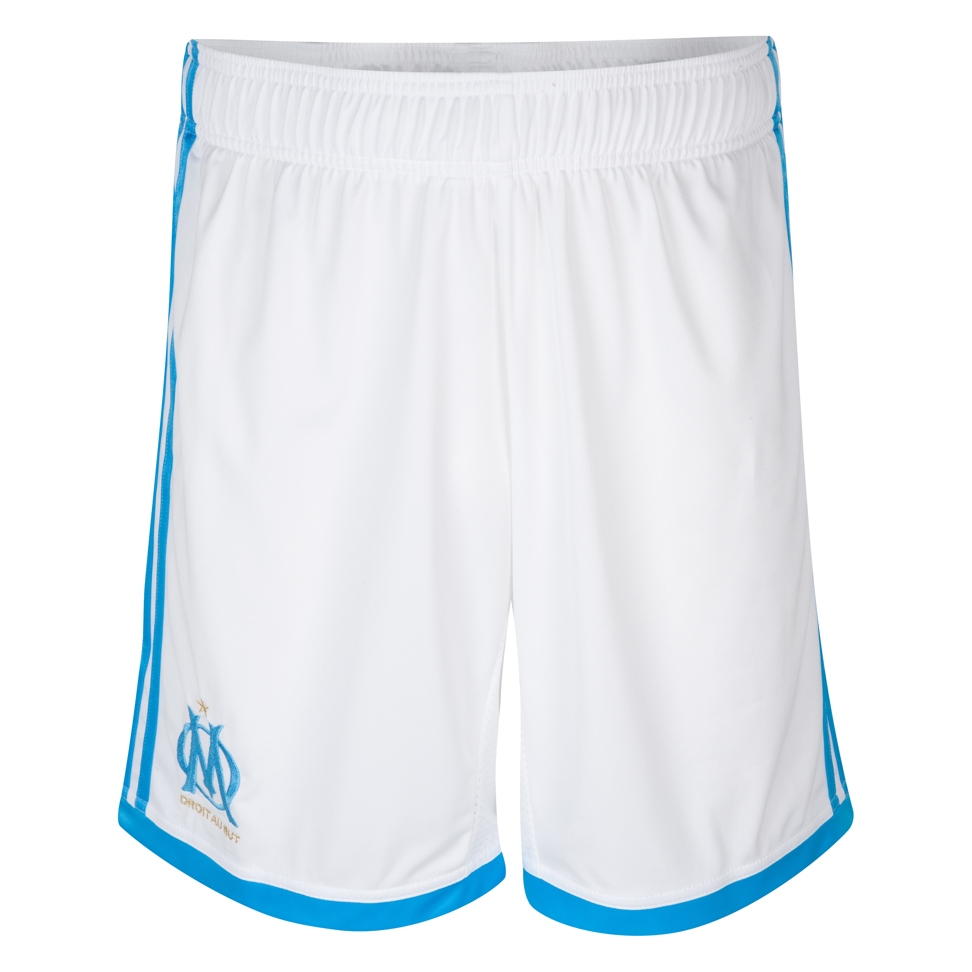 Olympique de Marseille Home Shorts 2013/14 - Kids White
