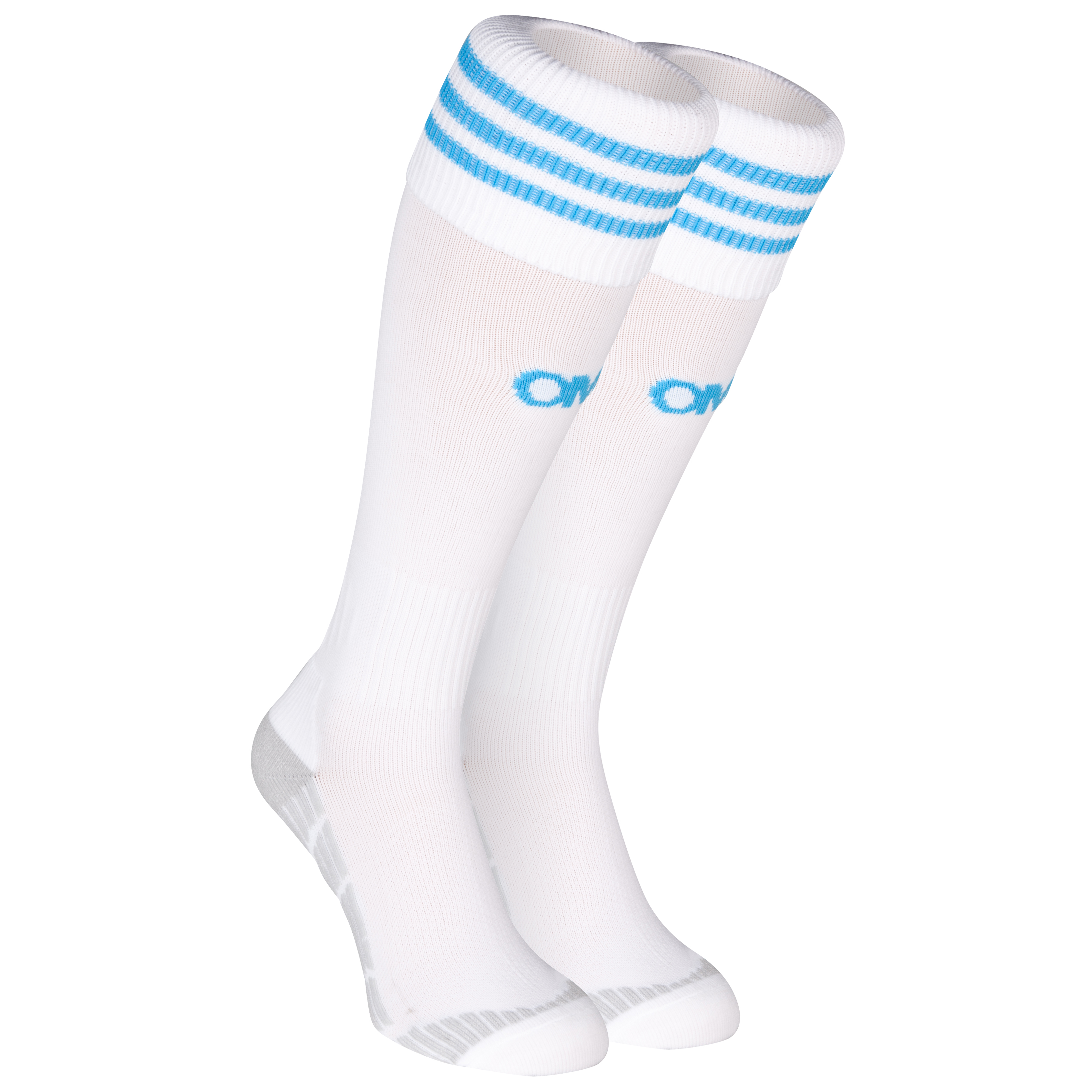 Olympique de Marseille Home Sock 2013/14 White