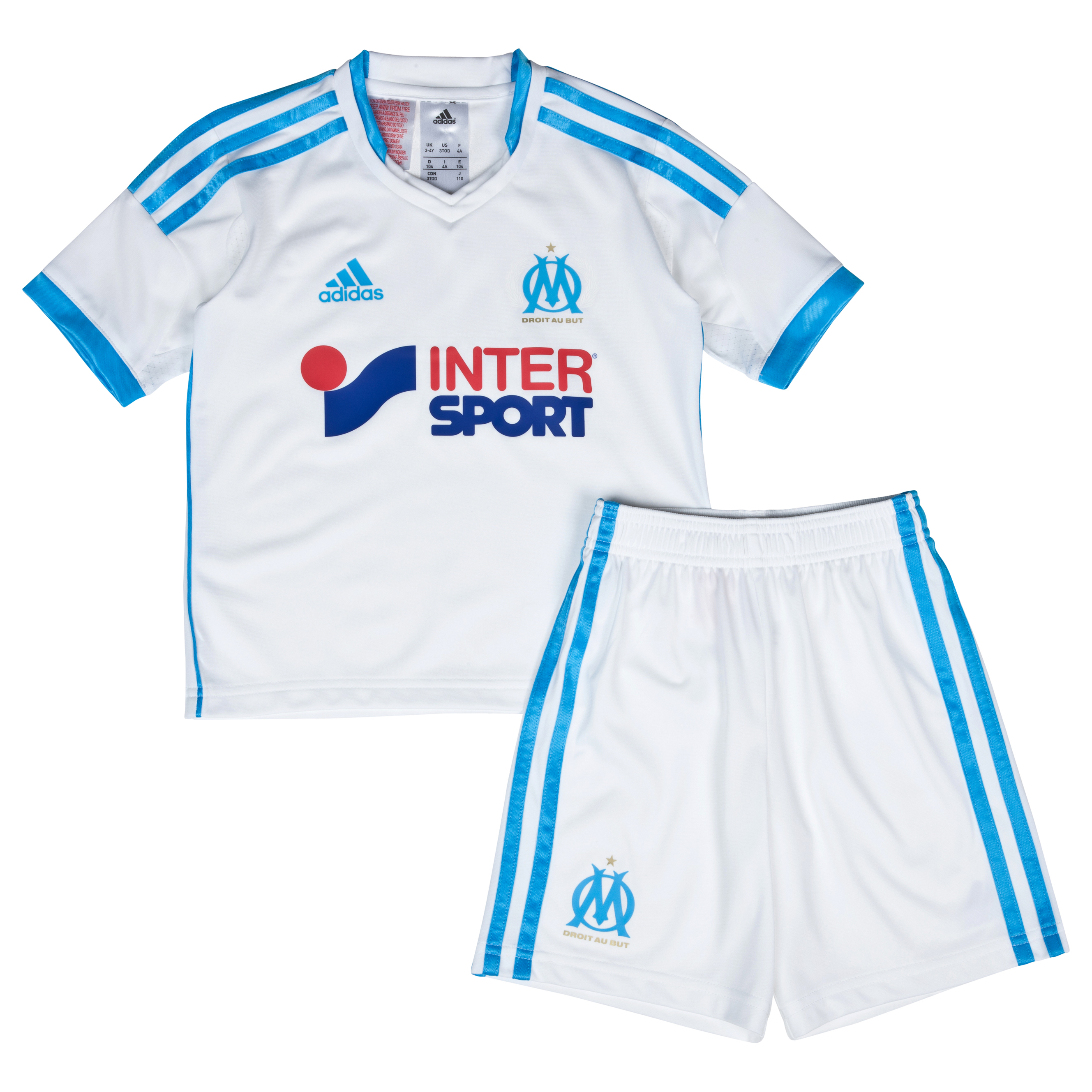 Olympique de Marseille Home Mini Kit 2013/14 White
