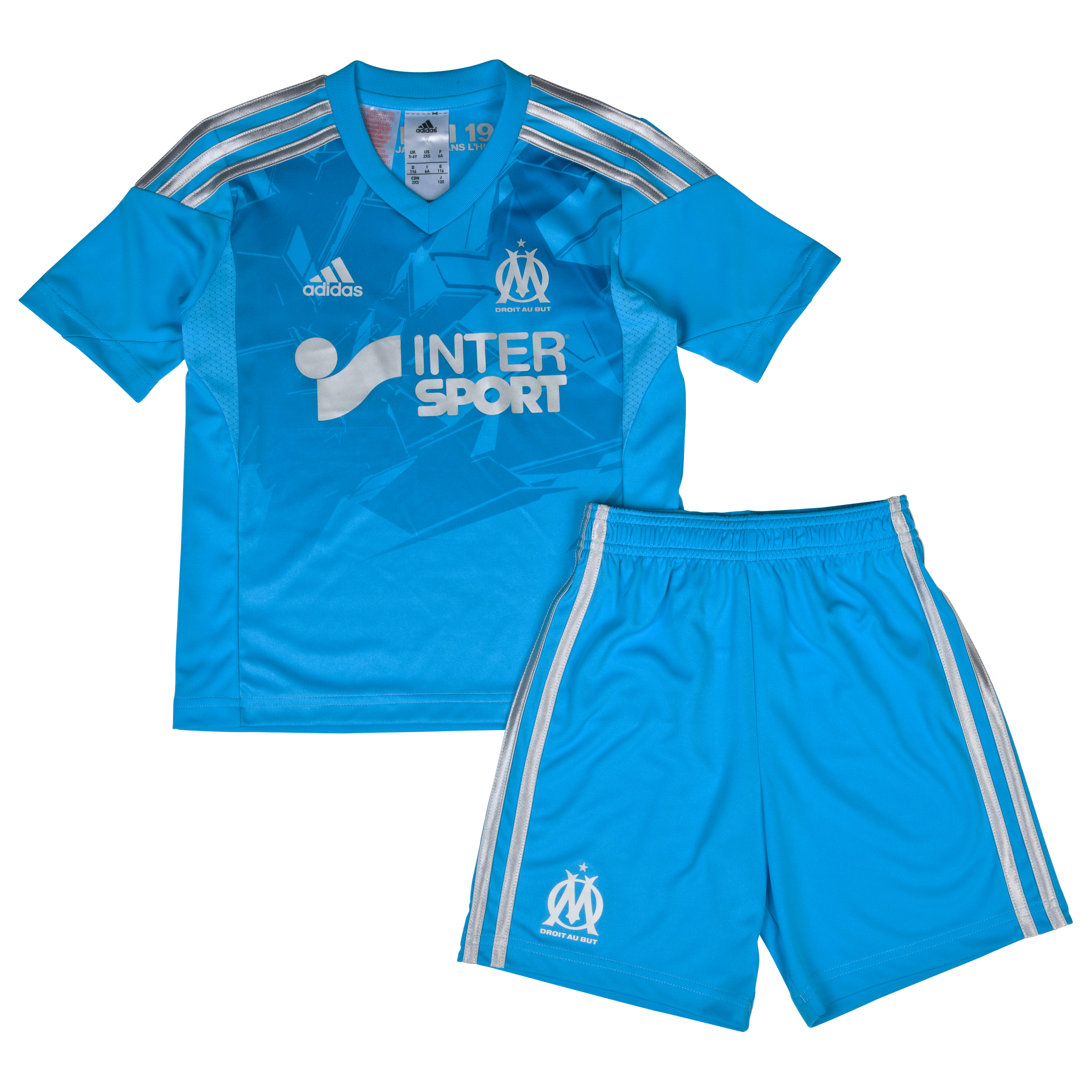 Olympique de Marseille Third Mini Kit 2013/14 Blue