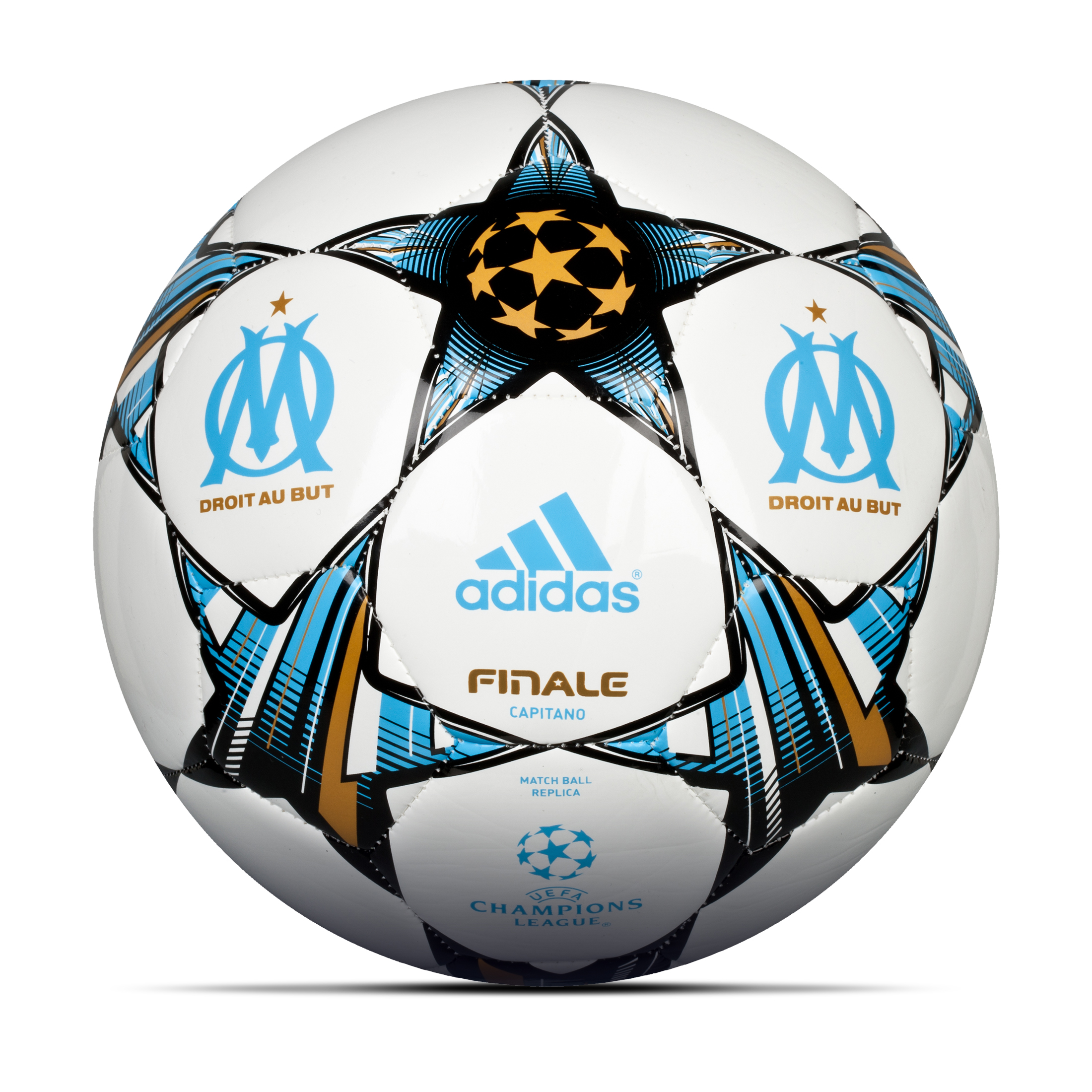 Olympique de Marseille Finale 13 UEFA Champions League Capitano Football White