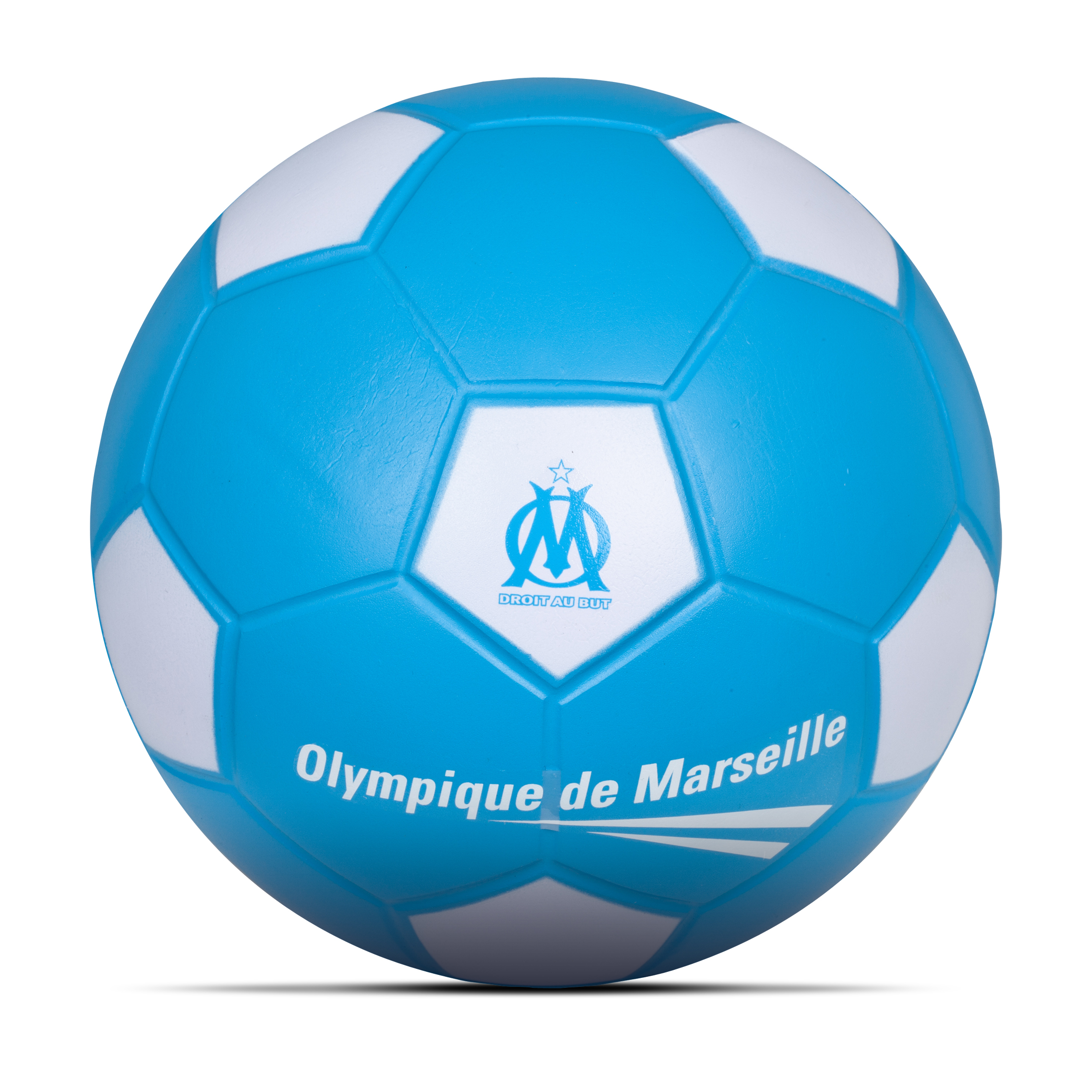 Olympique de Marseille PU Rigid Foam Football - Size 4