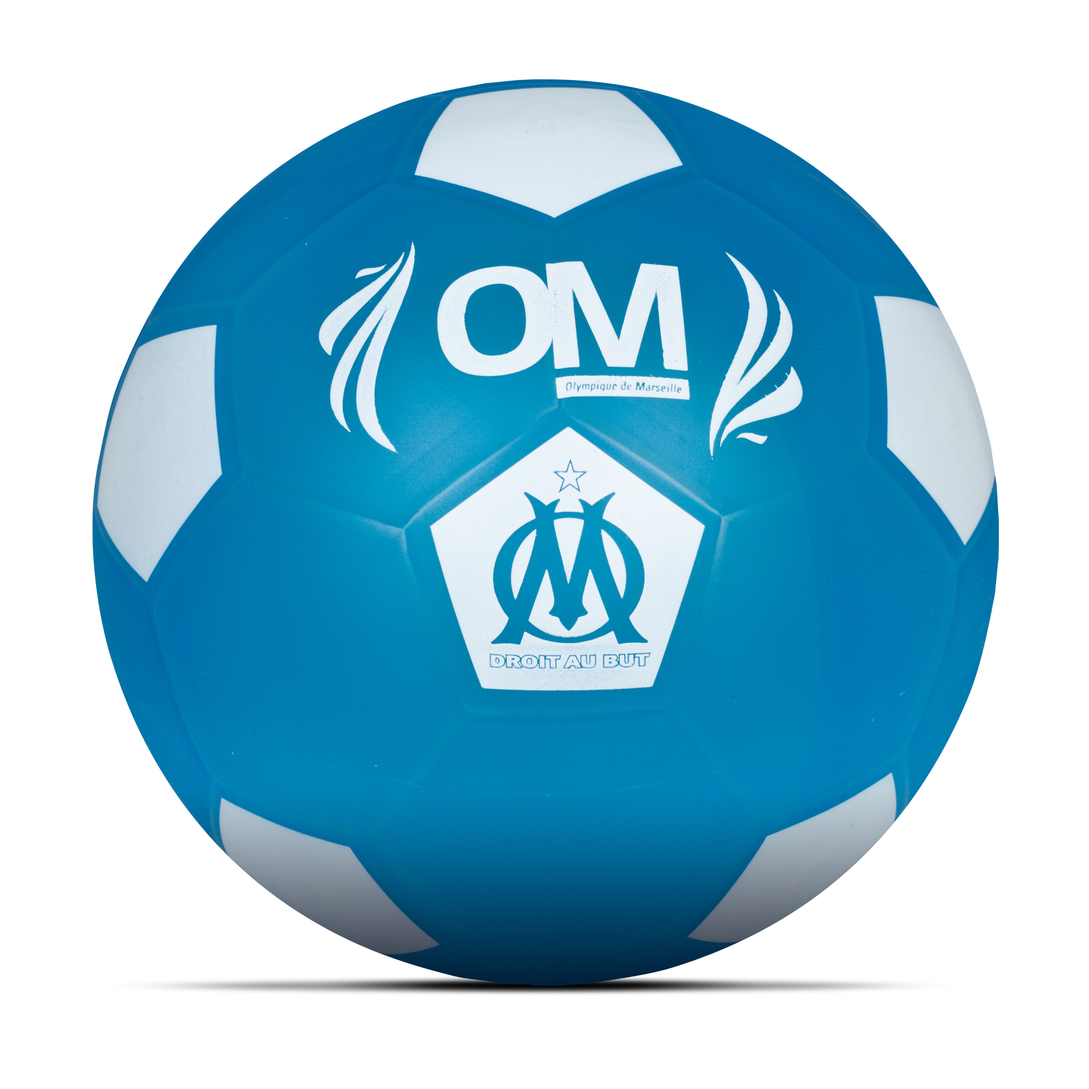 Olympique de Marseille Soft PVC Ball - 21.5cm