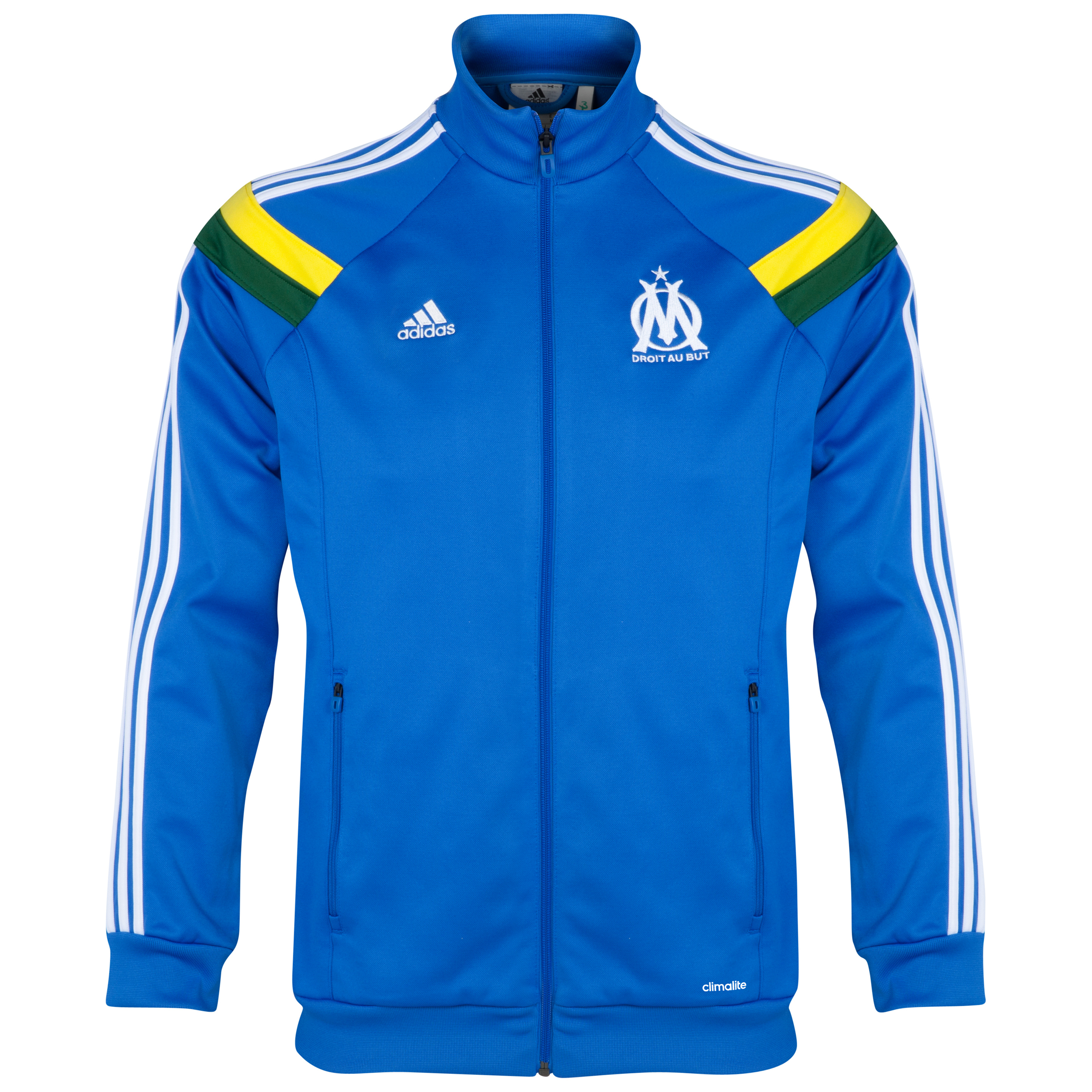 Olympique de Marseille Anthem Track Top Blue
