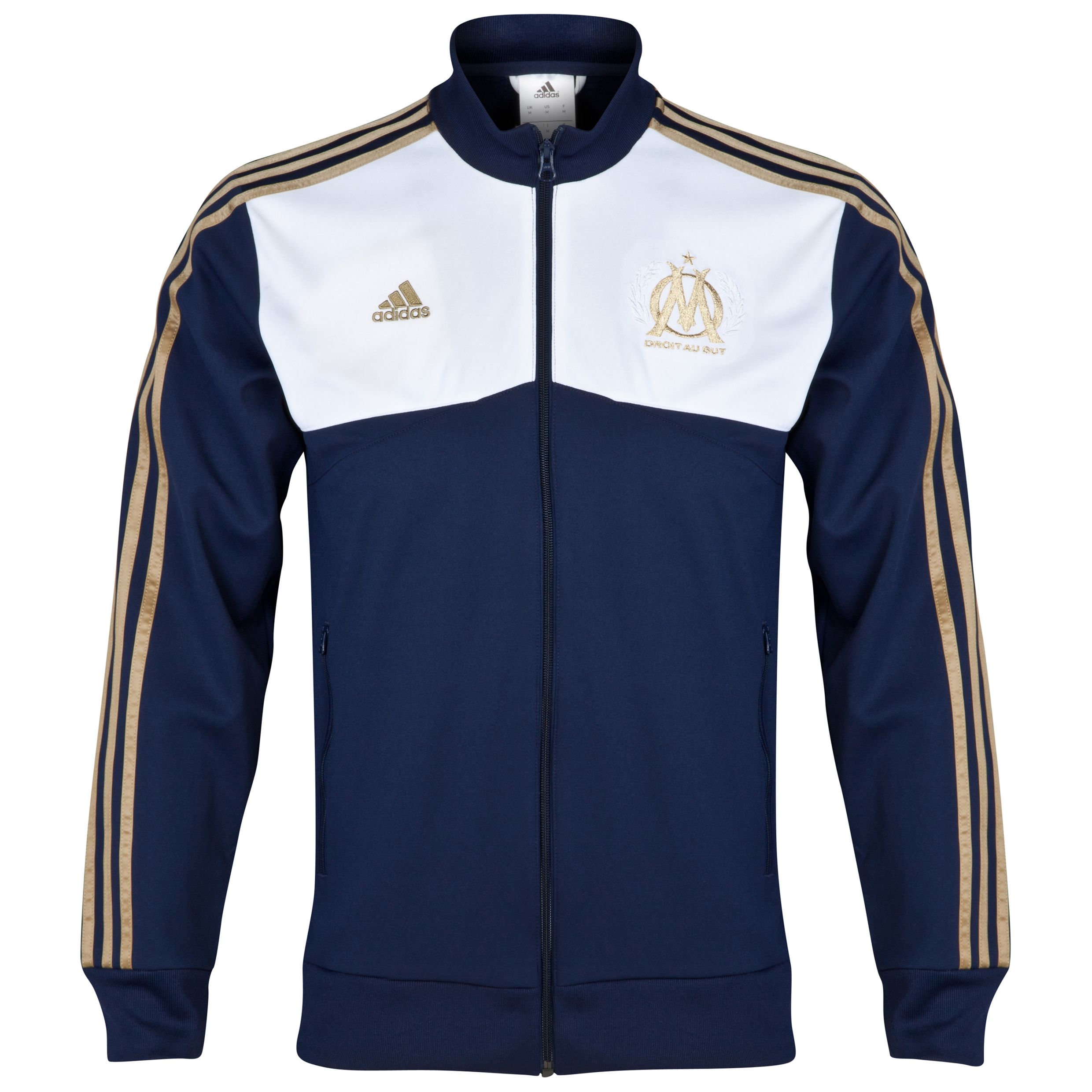 Olympique de Marseille Core Track Top Blue