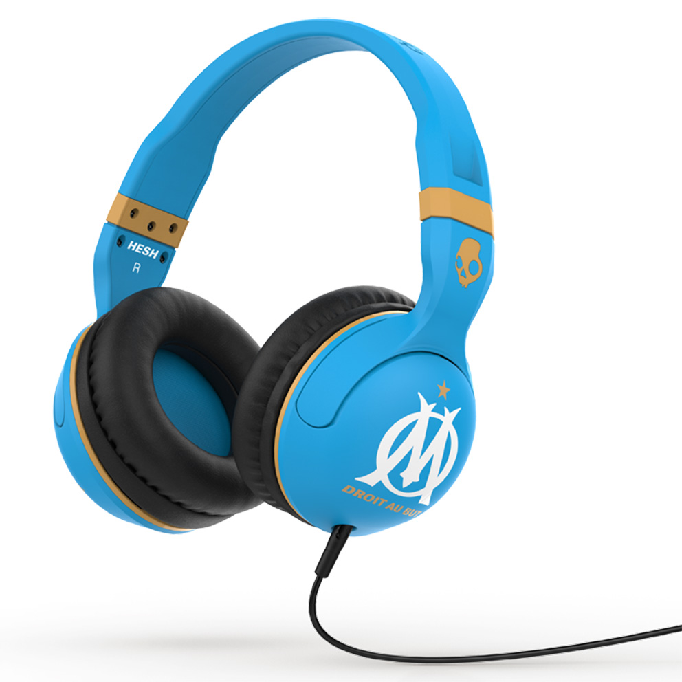 Casque Audio Skullcandy Hesh Olympique de Marseille