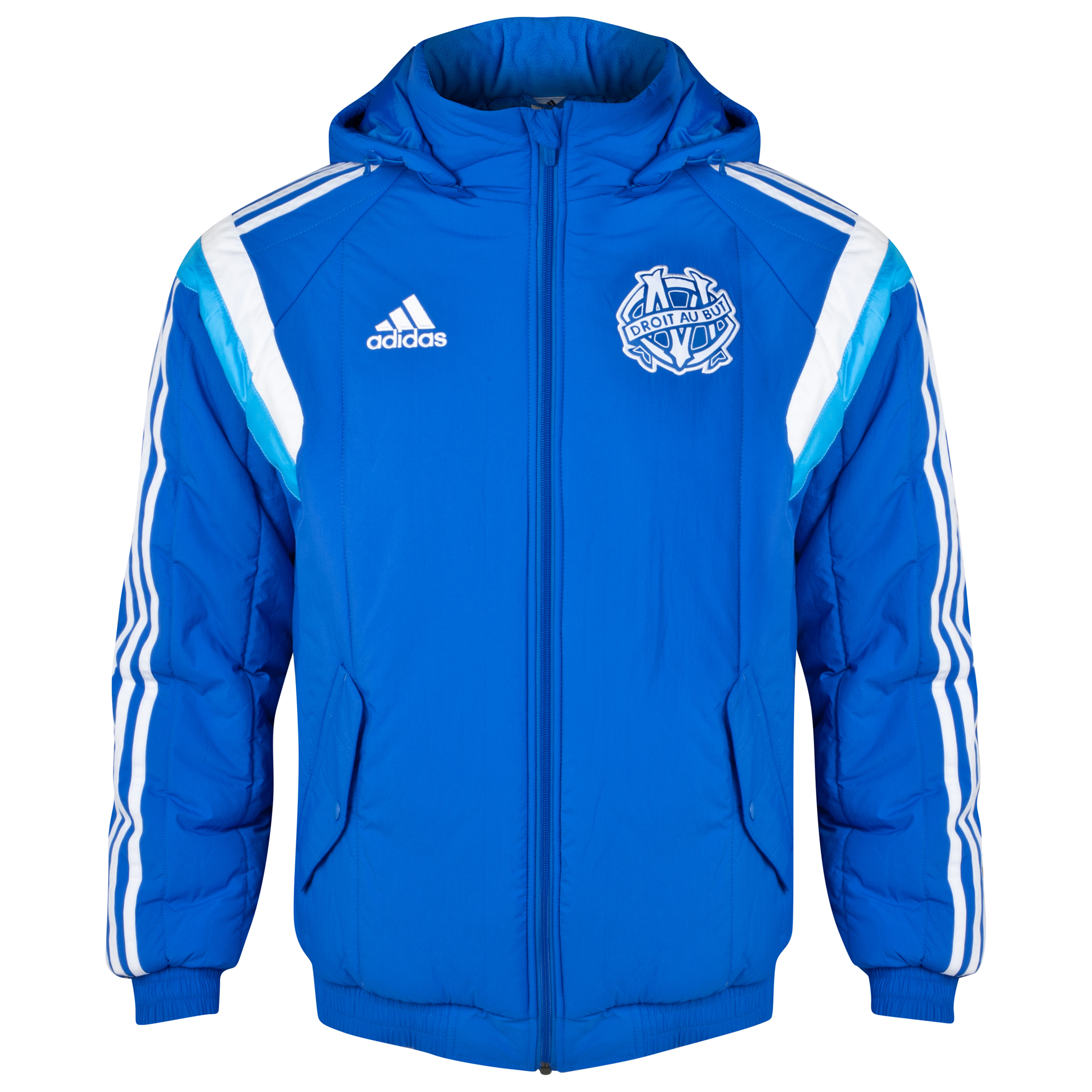 Olympique de Marseille Padded Jacket Lt Blue