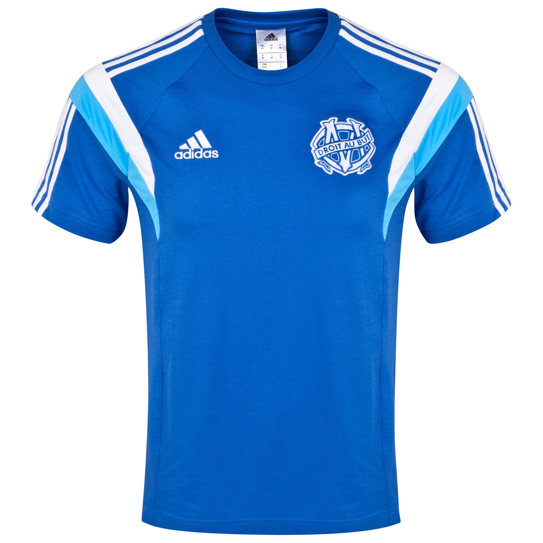 Olympique de Marseille T-Shirt Lt Blue