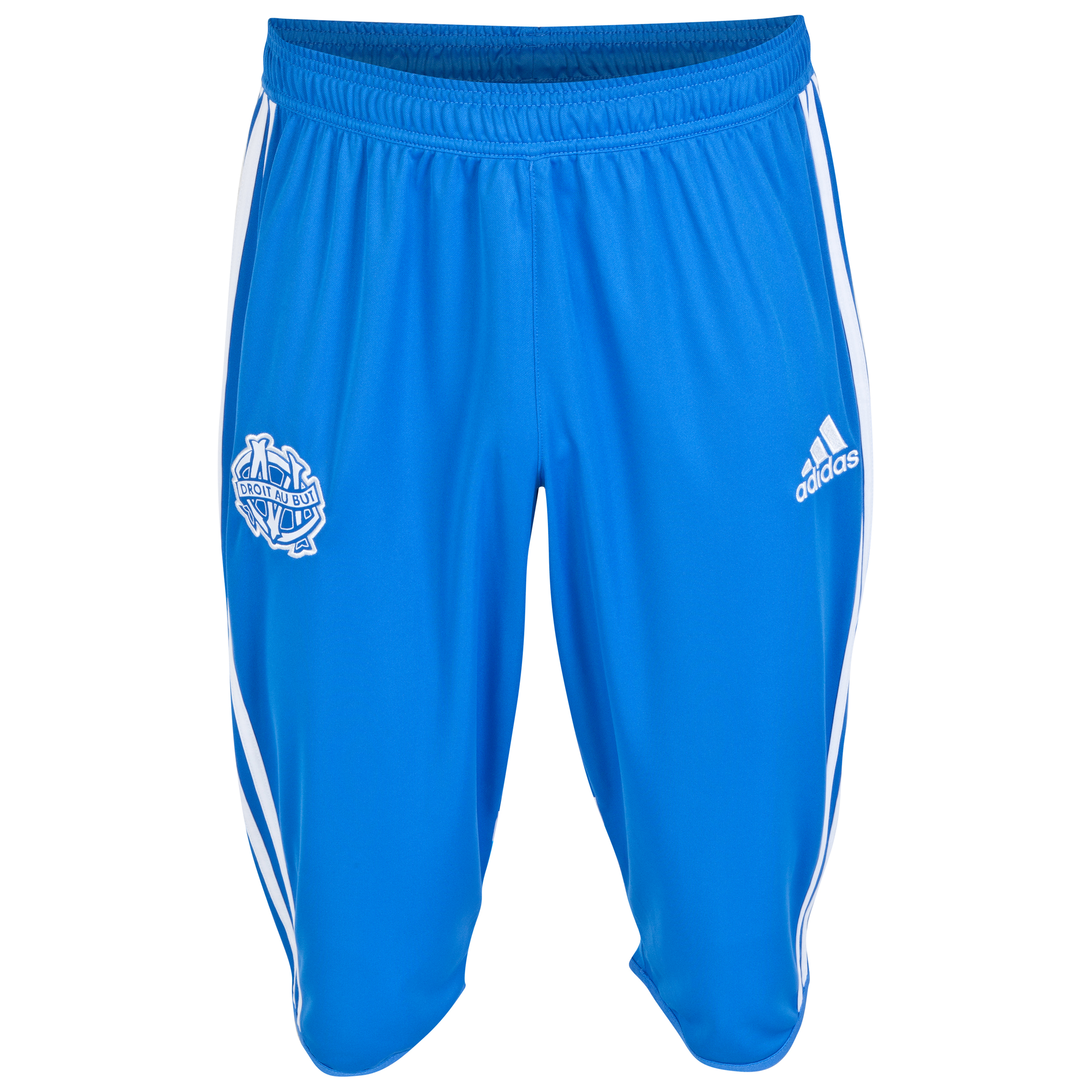 Olympique de Marseille Training 3/4 Pant Lt Blue