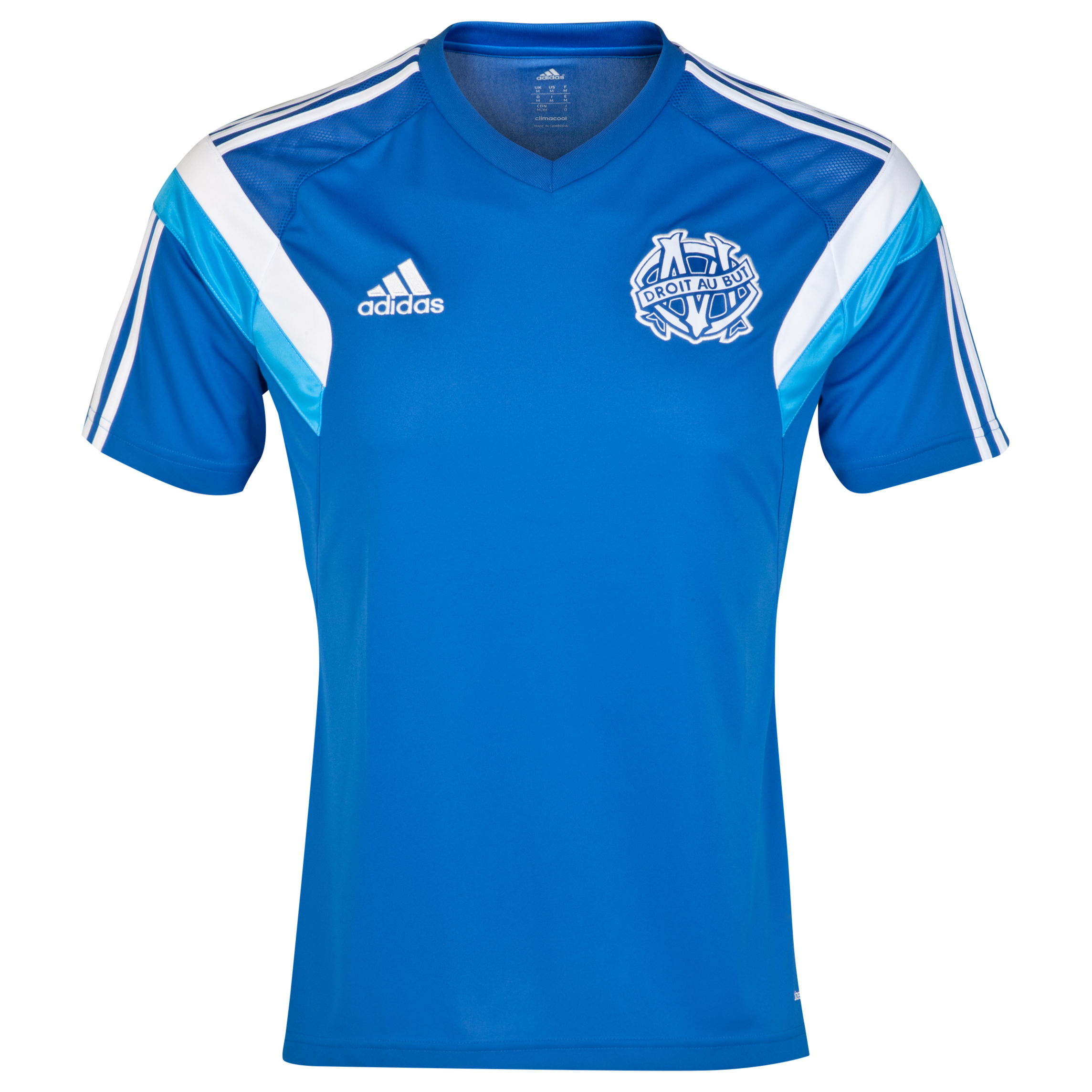 Olympique de Marseille Training Jersey Lt Blue