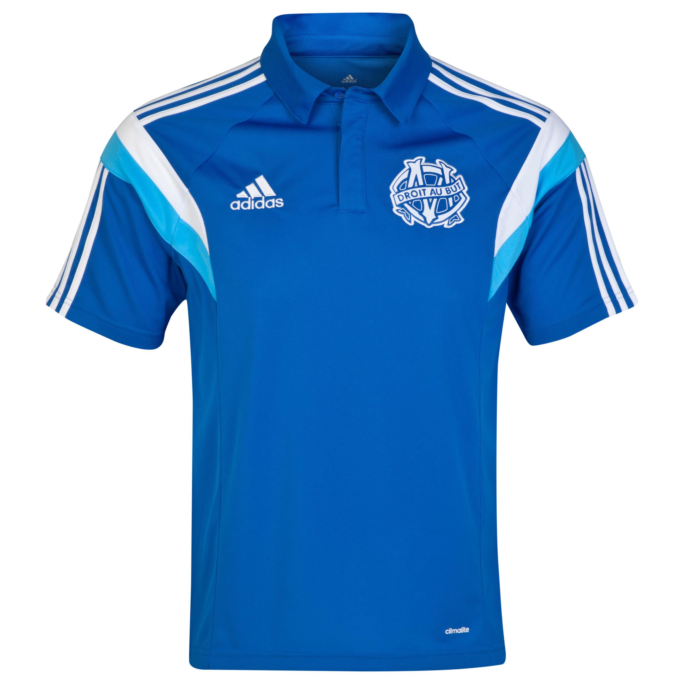 Olympique de Marseille Polo Lt Blue