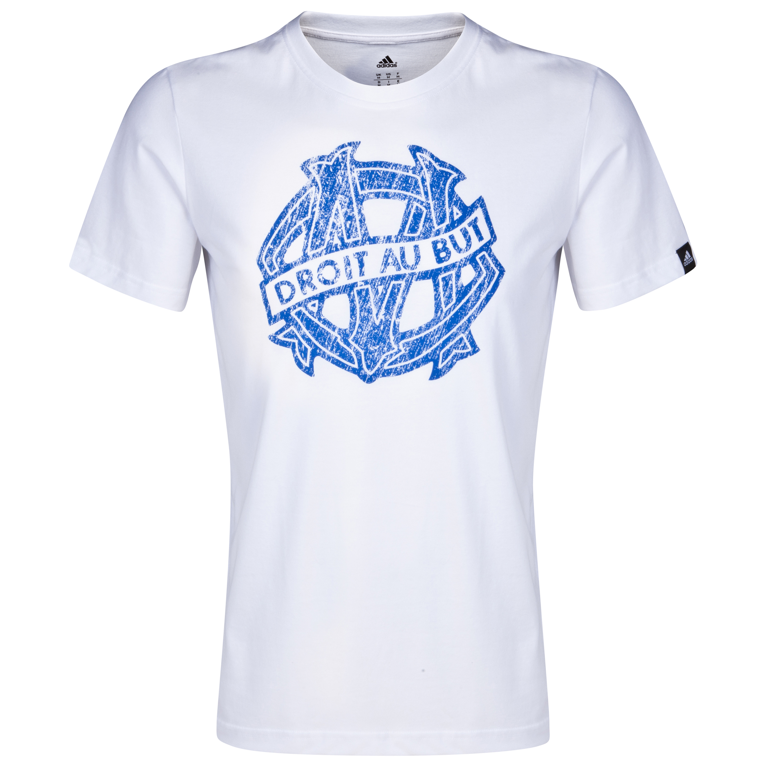 Olympique de Marseille Core Graphic T-Shirt White