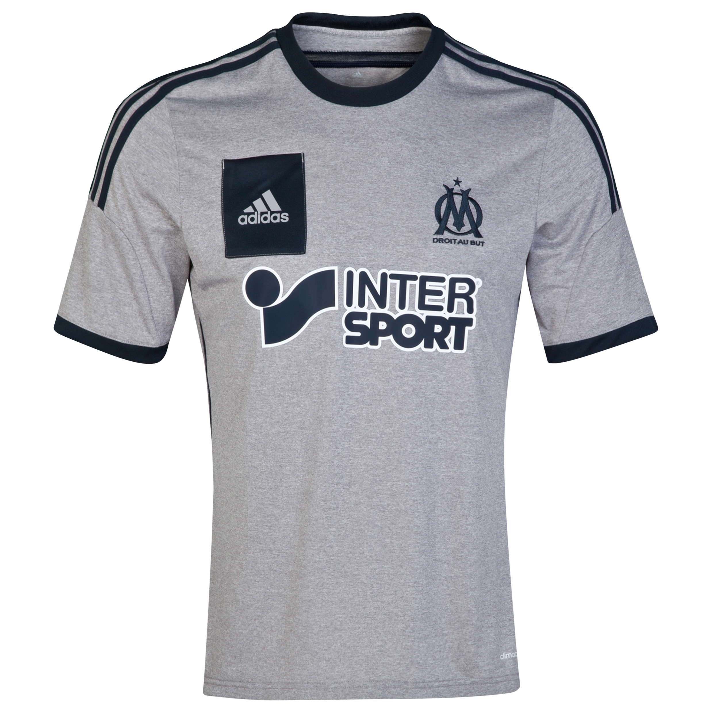 Olympique de Marseille Away Shirt Short Sleeve 2014/15 Silver