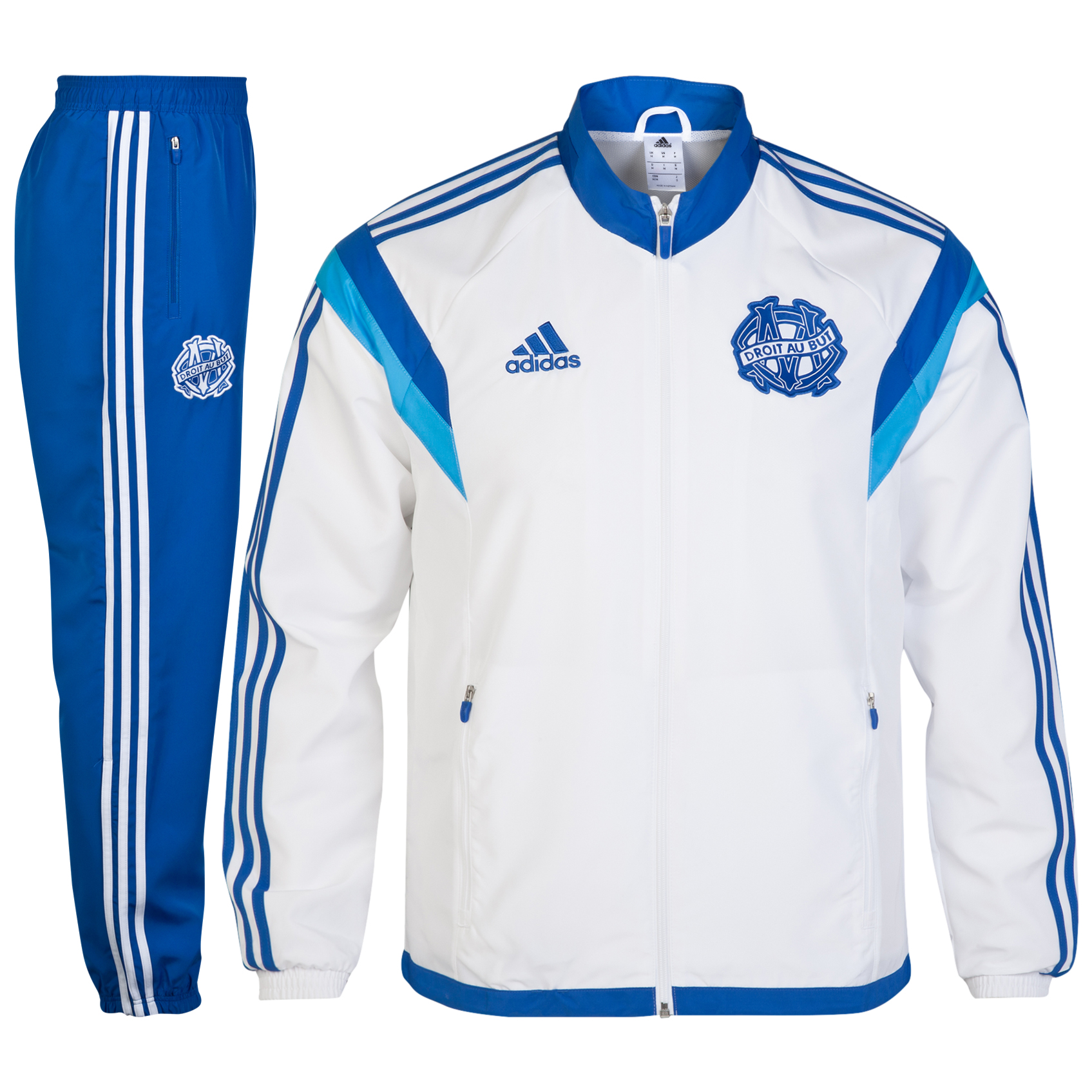 Olympique de Marseille Presentation Suit White
