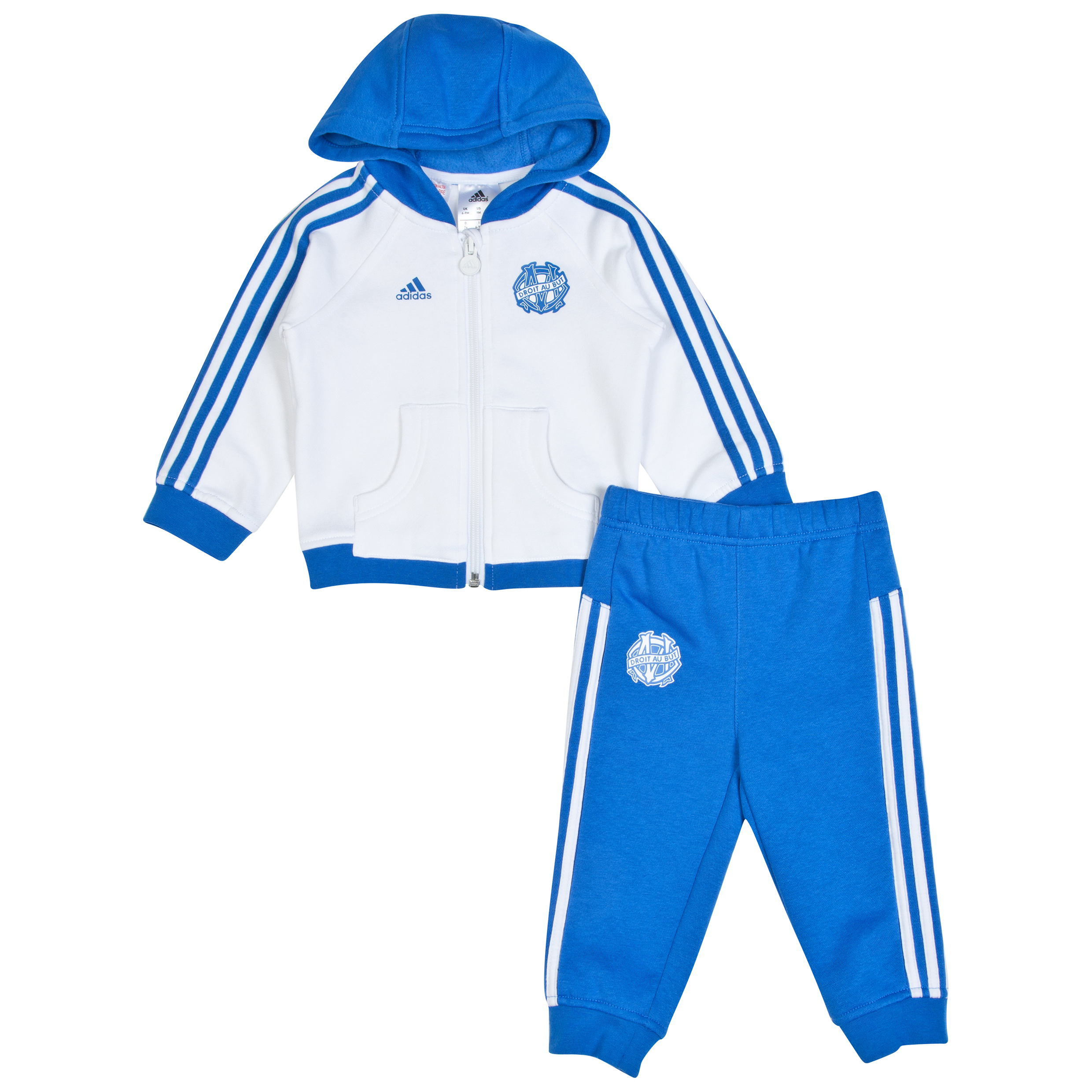 Olympique de Marseille Core Baby Jog Suit White