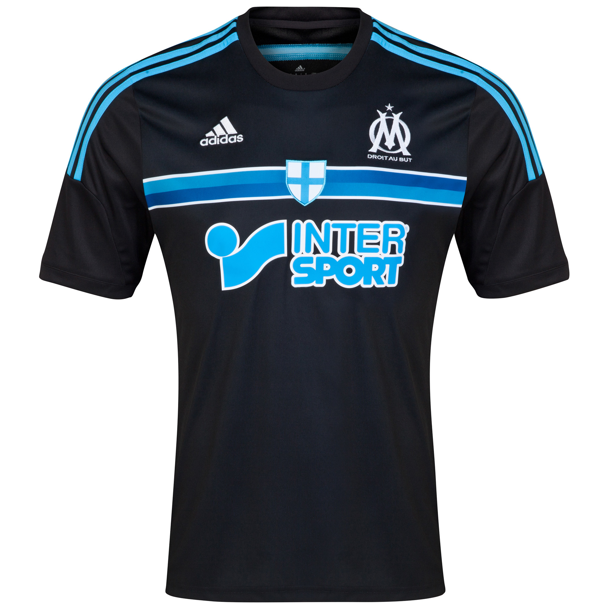 Olympique de Marseille 3rd Shirt Short Sleeve 2014/15 Black