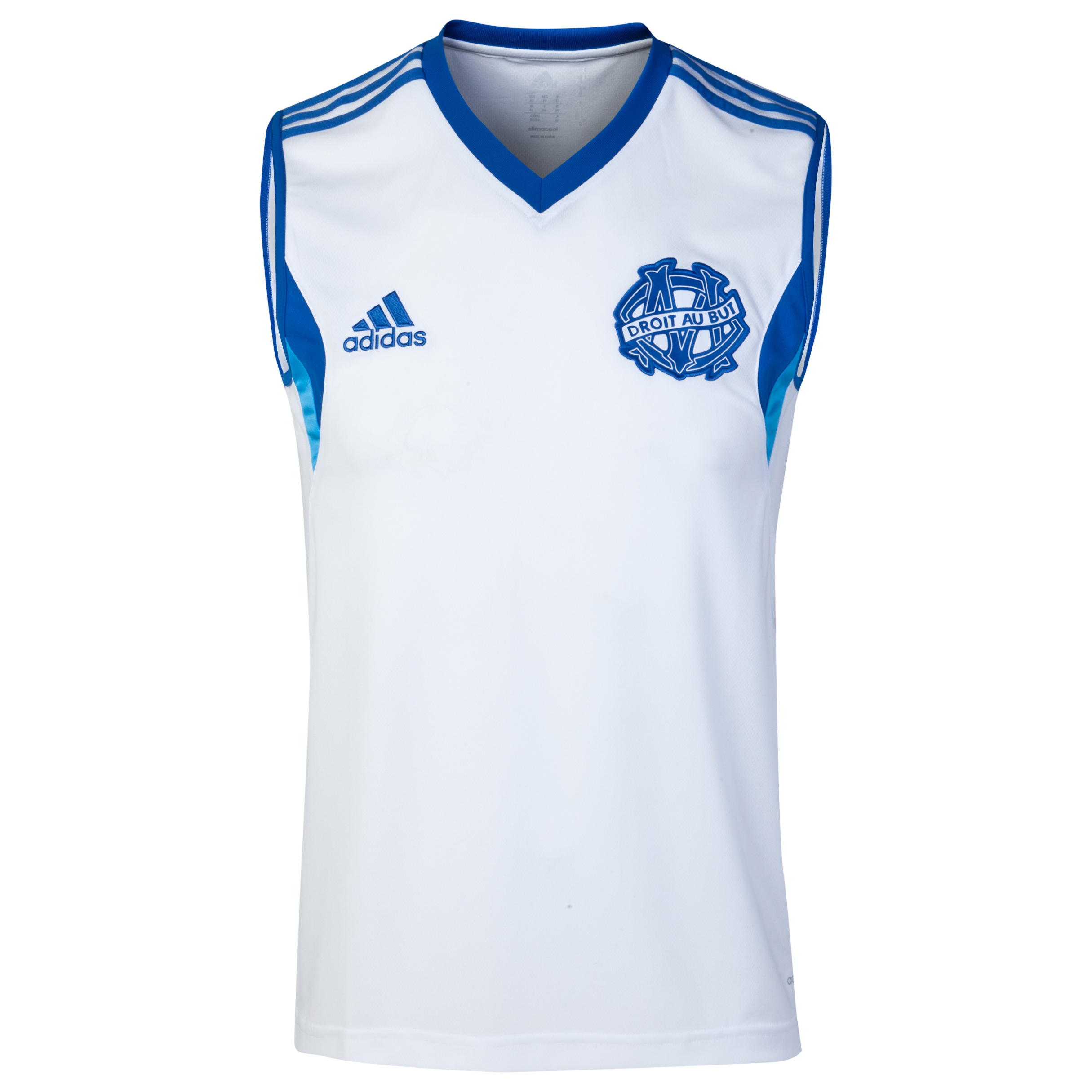 Olympique de Marseille Sleeveless Jersey White