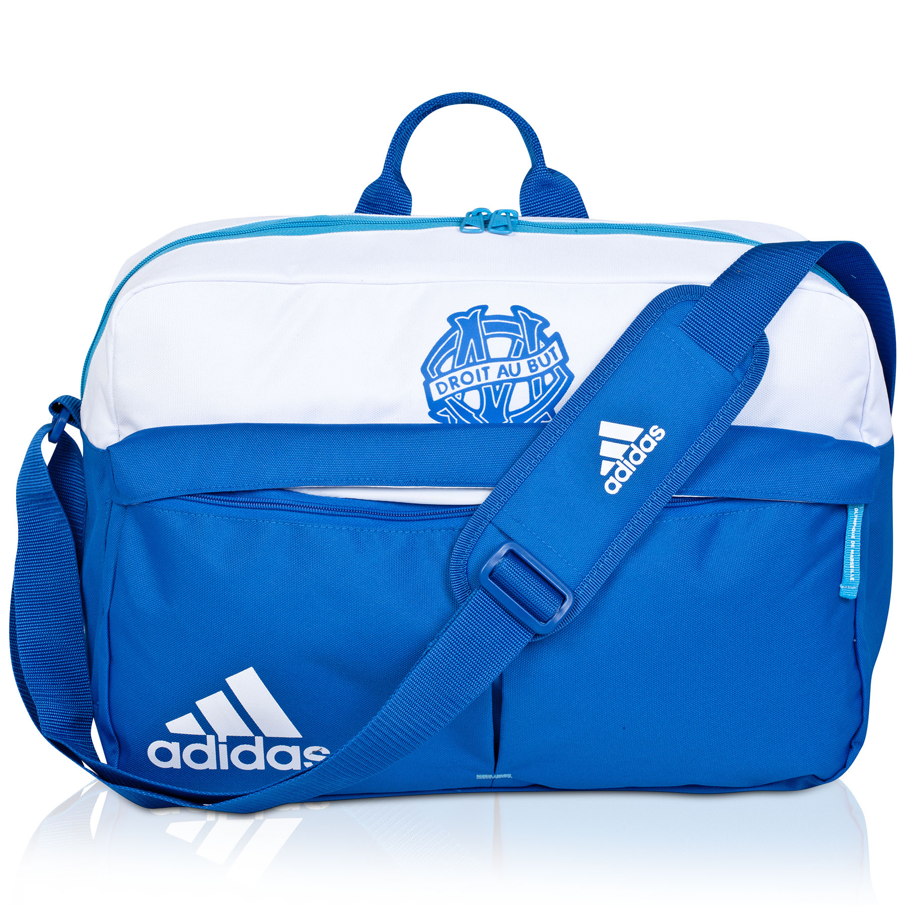 Olympique de Marseille Messenger Bag White