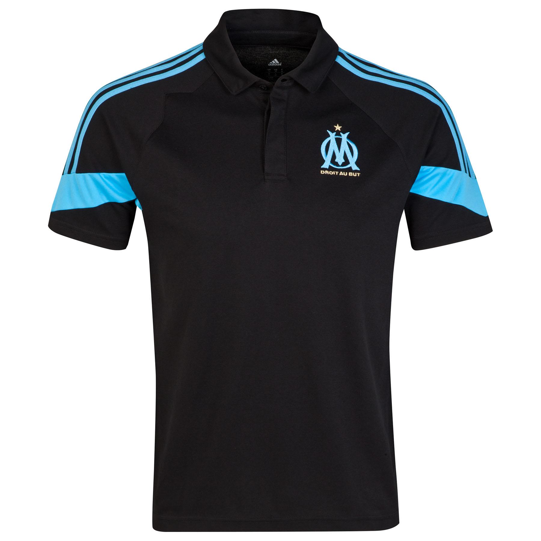 Olympique de Marseille Euro Training Polo Black
