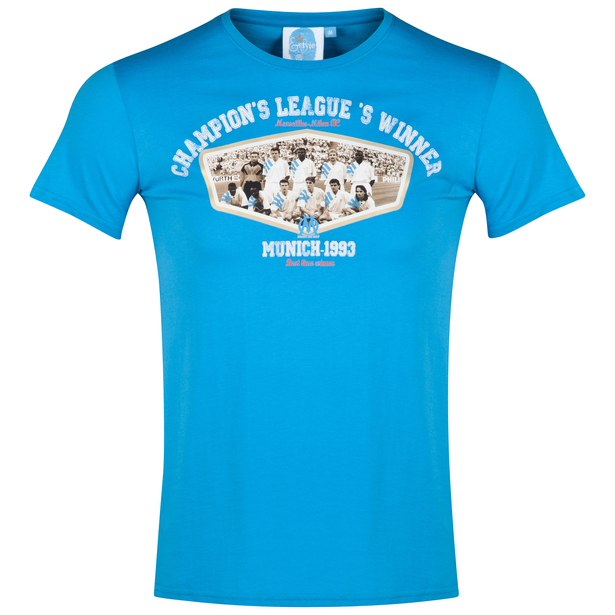 Olympique de Marseille Team Legend T-Shirt - Mens Blue