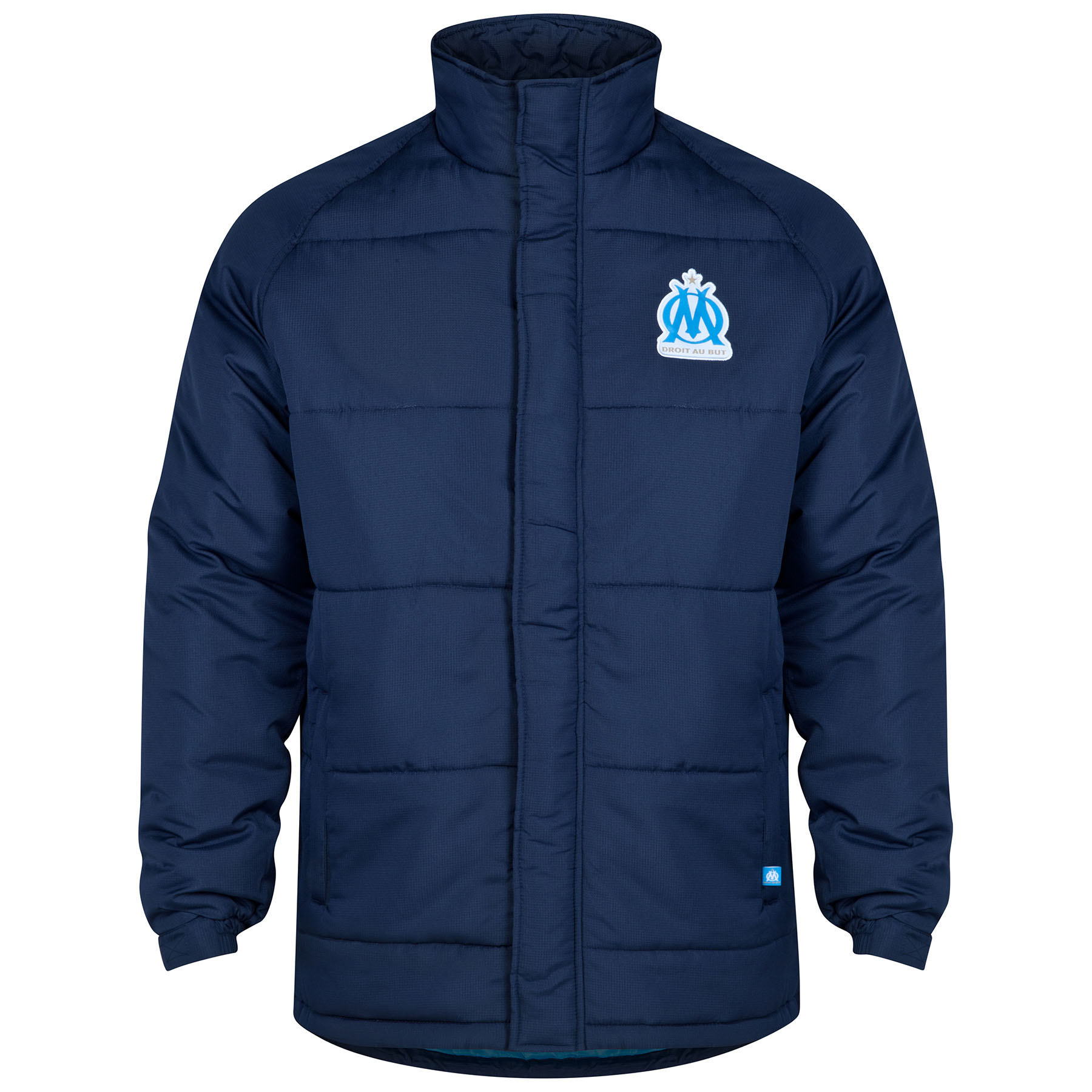 Olympique de Marseille Shower Jacket - Marine - Mens