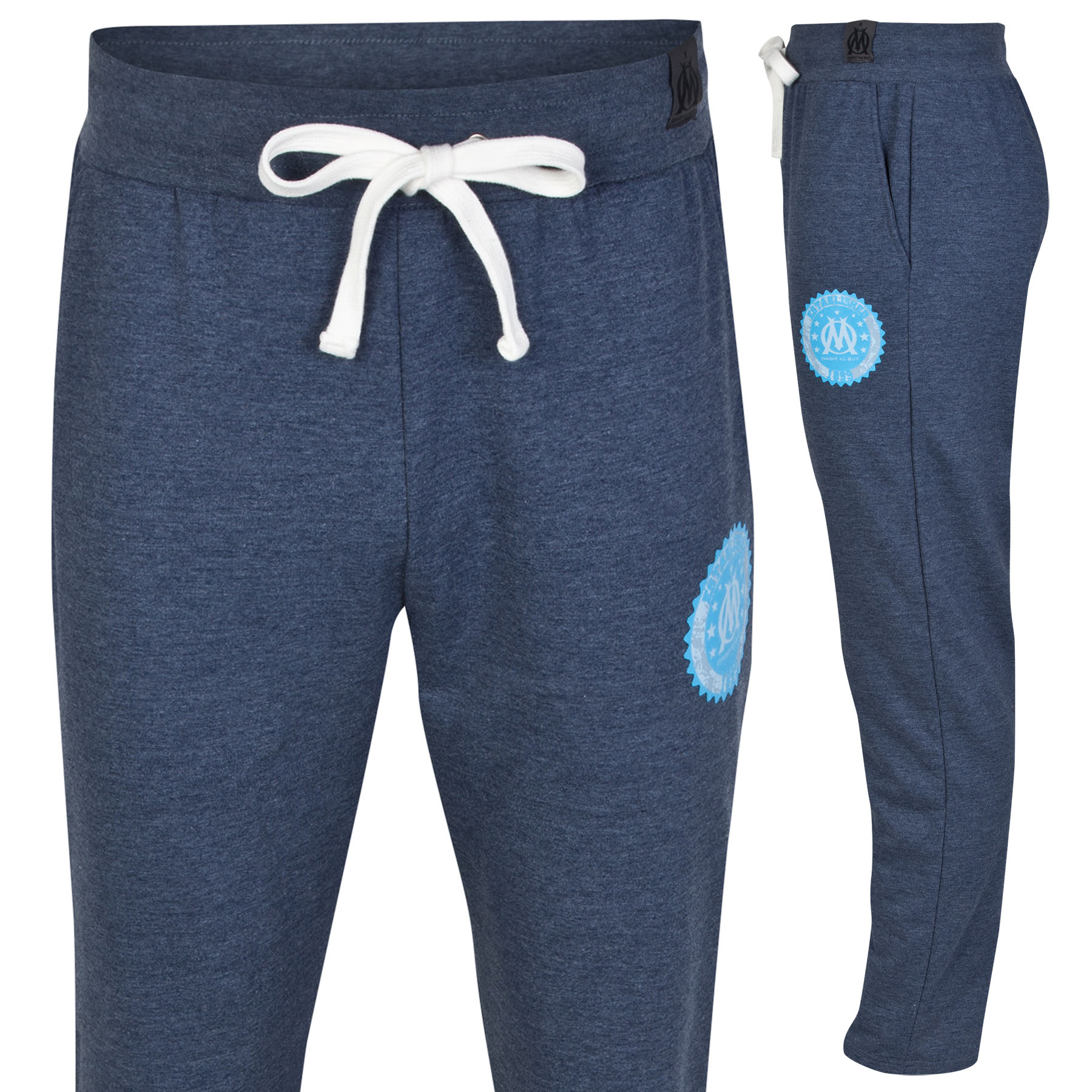 Olympique de Marseille Lifestyle Joggers - Denim Blue - Mens