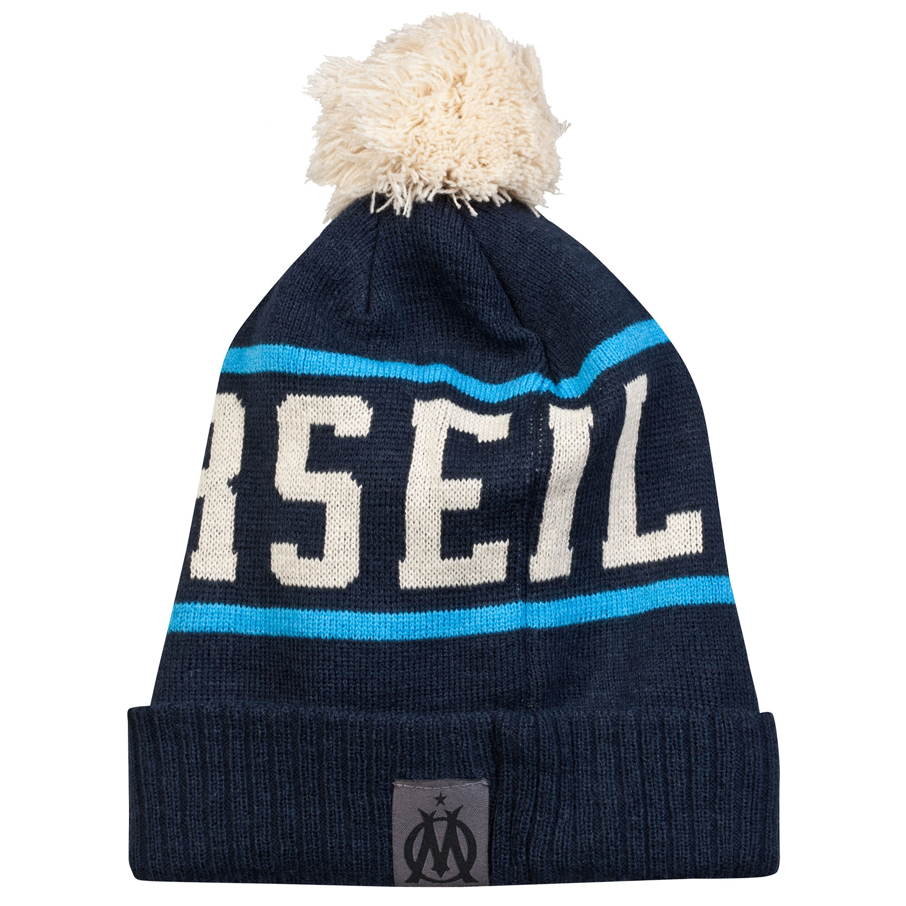 Olympique de Marseille Lifestyle Bobble Hat - Denim Blue - Adult