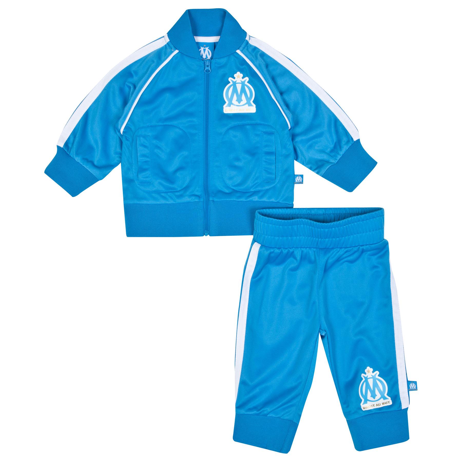 Olympique de Marseille Tracksuit - Blue - Baby Boys