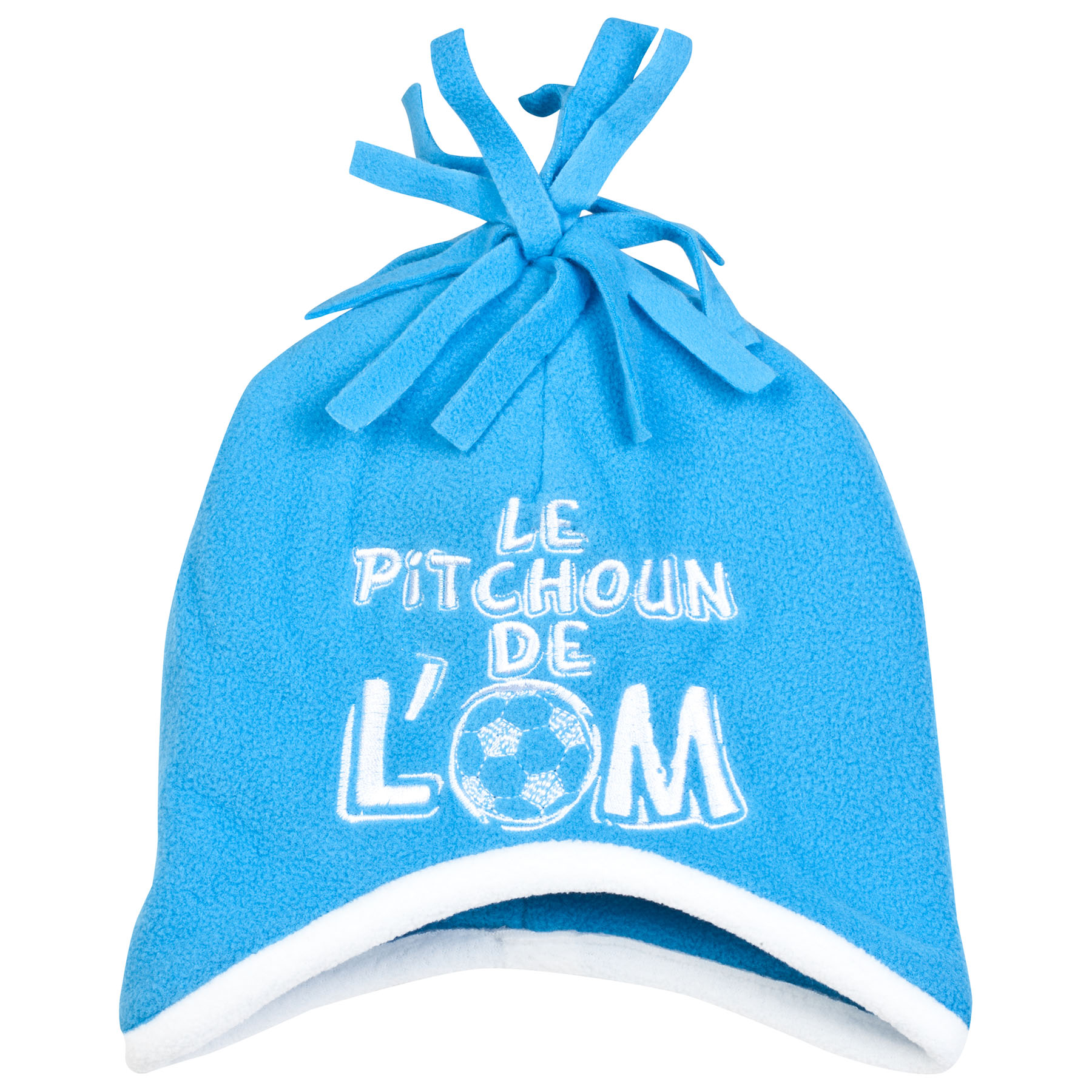 Olympique de Marseille Bobble Hat - Blue - Baby Boys