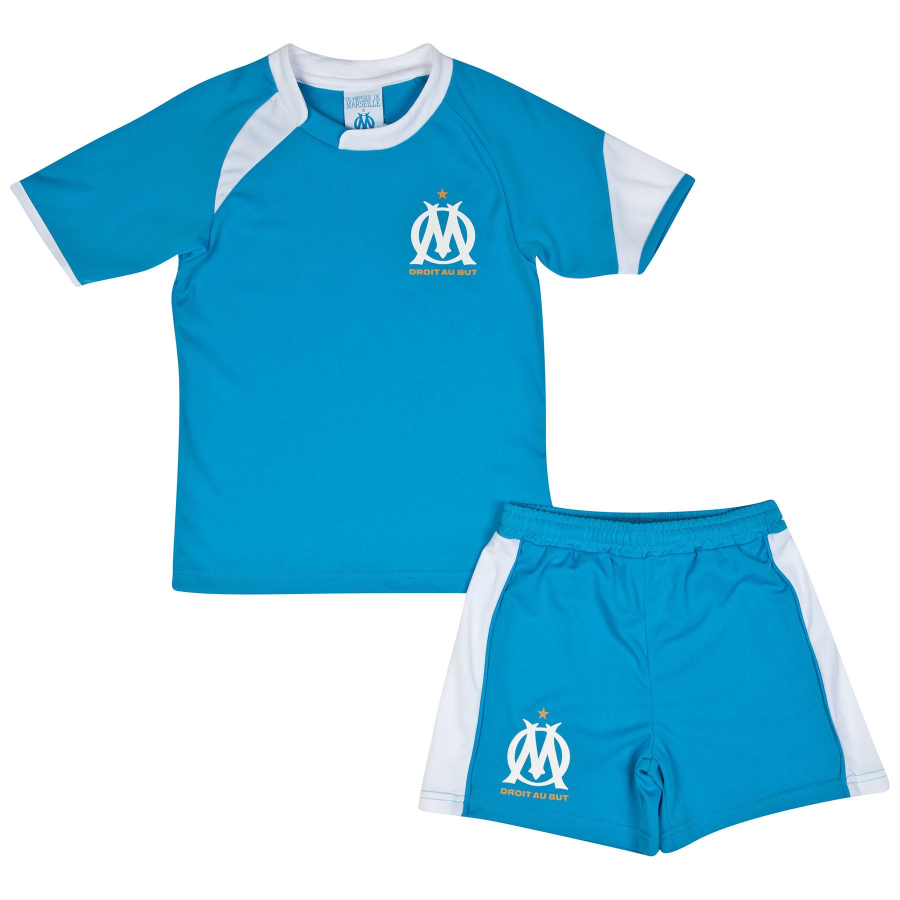 Olympique de Marseille Fan Mini Kit - Blue - Boys