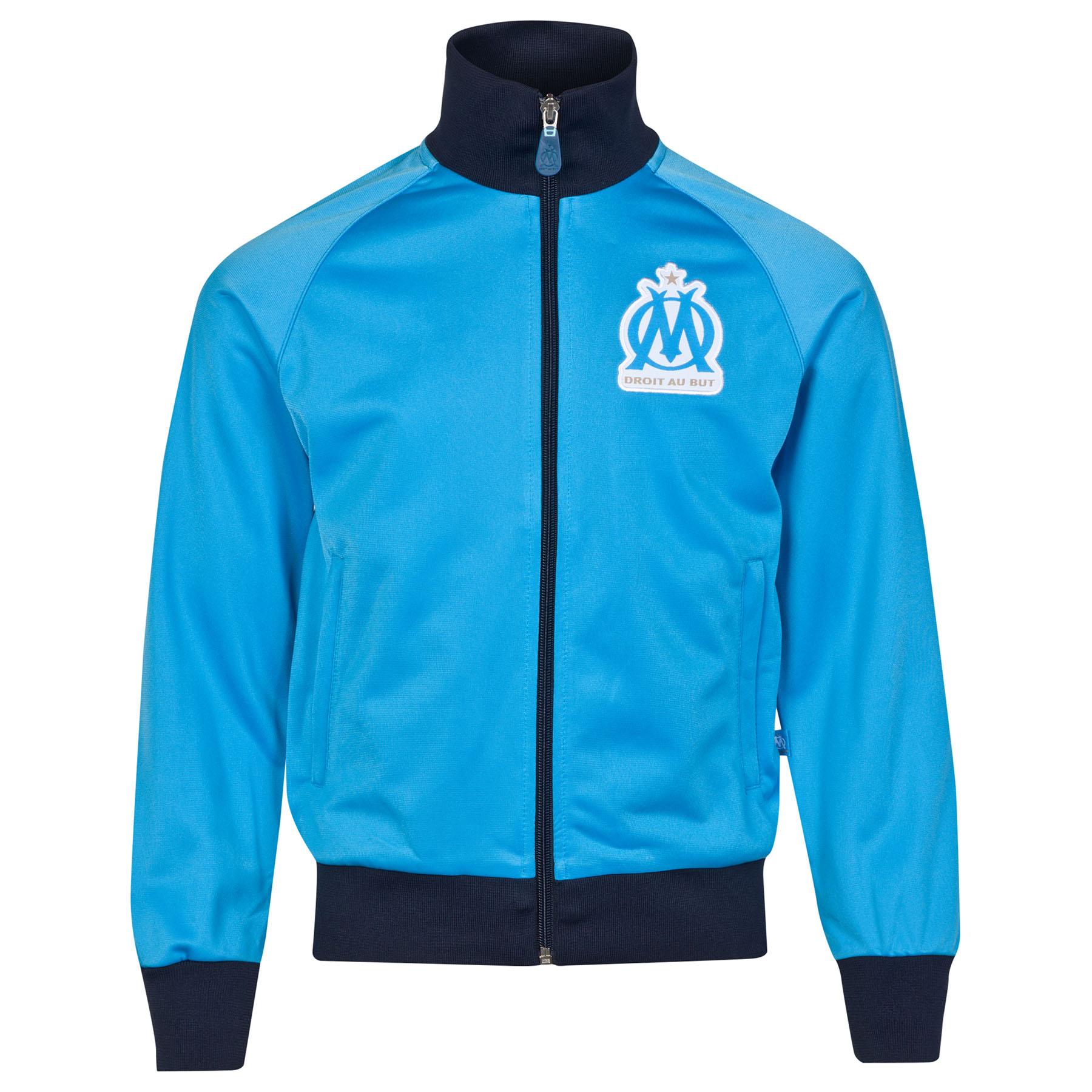 Olympique de Marseille Track Jacket - Blue - Boys