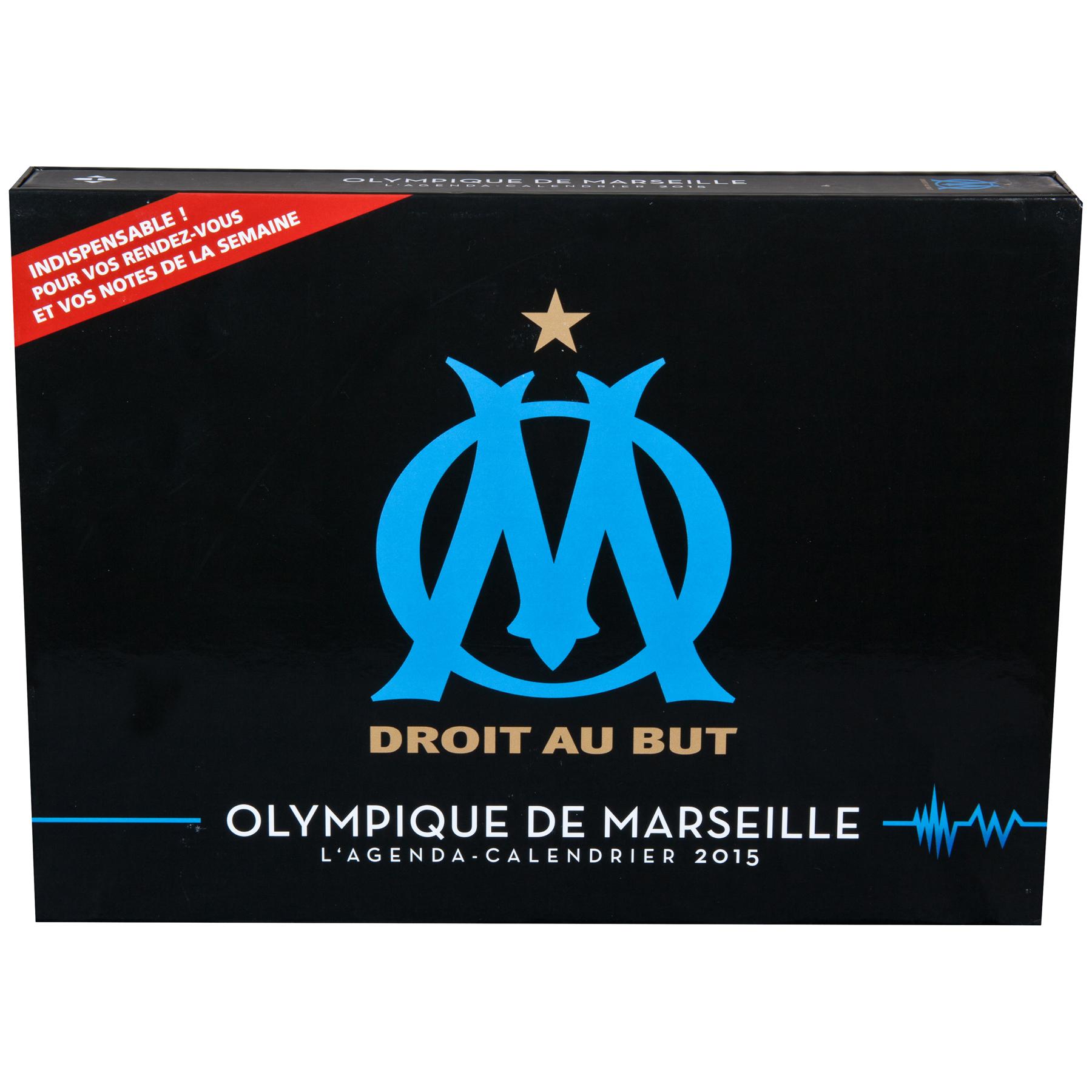 Olympique de Marseille Agenda Calendar 2015