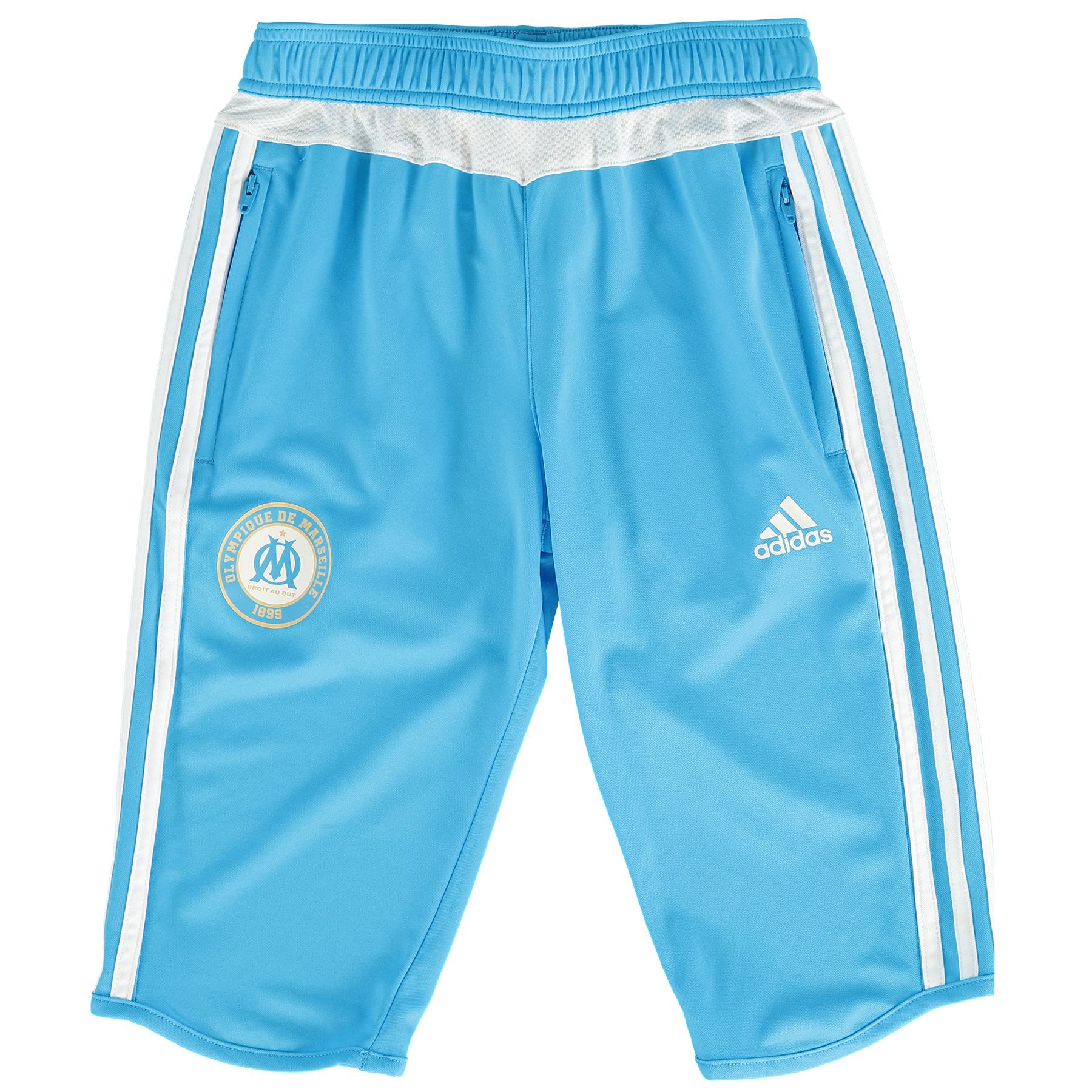 """Image of """"Pantacourt Enfant Olympique de Marseille - Bleu/Blanc"""""""