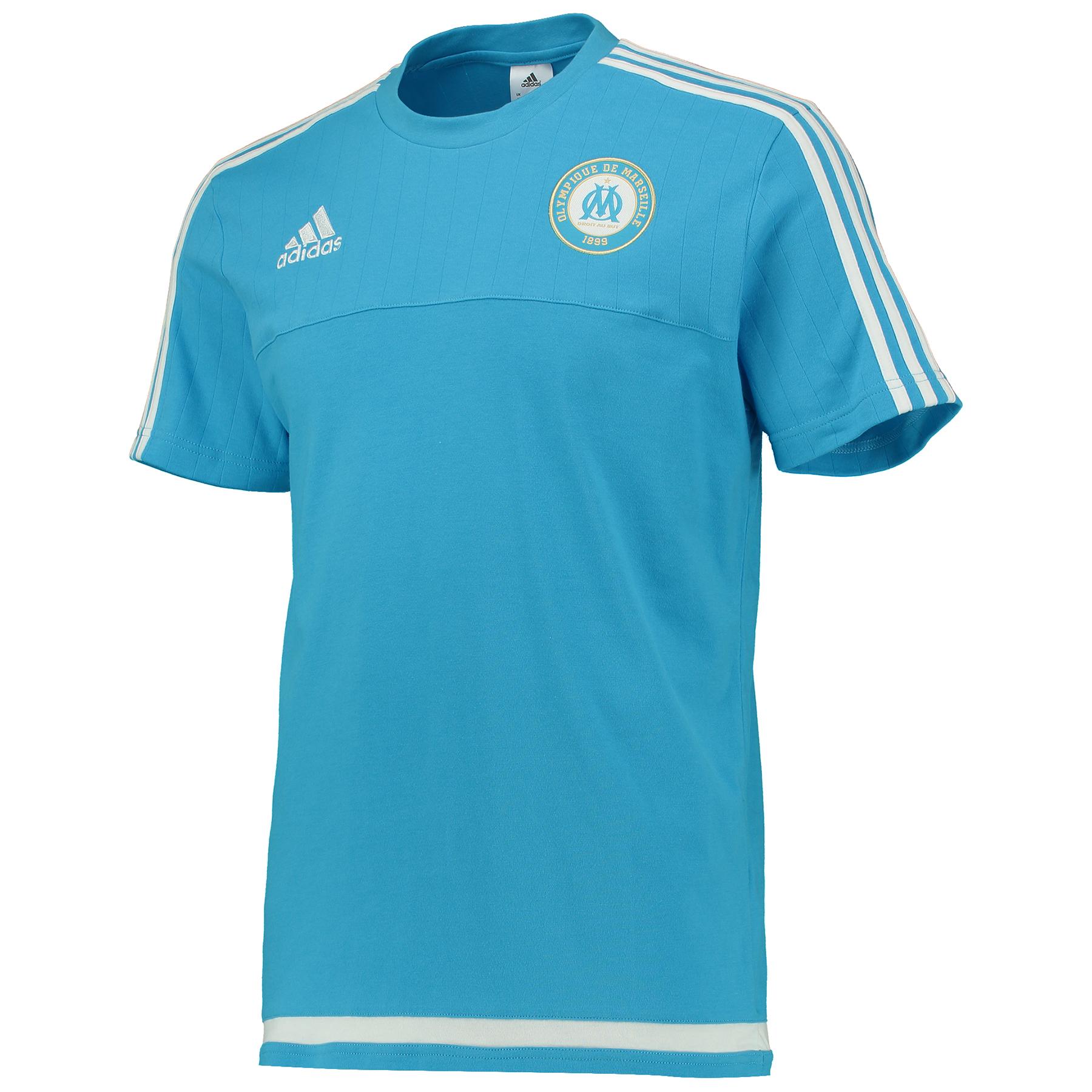 "Image of ""T-shirt Olympique de Marseille - Bleu/Blanc"""