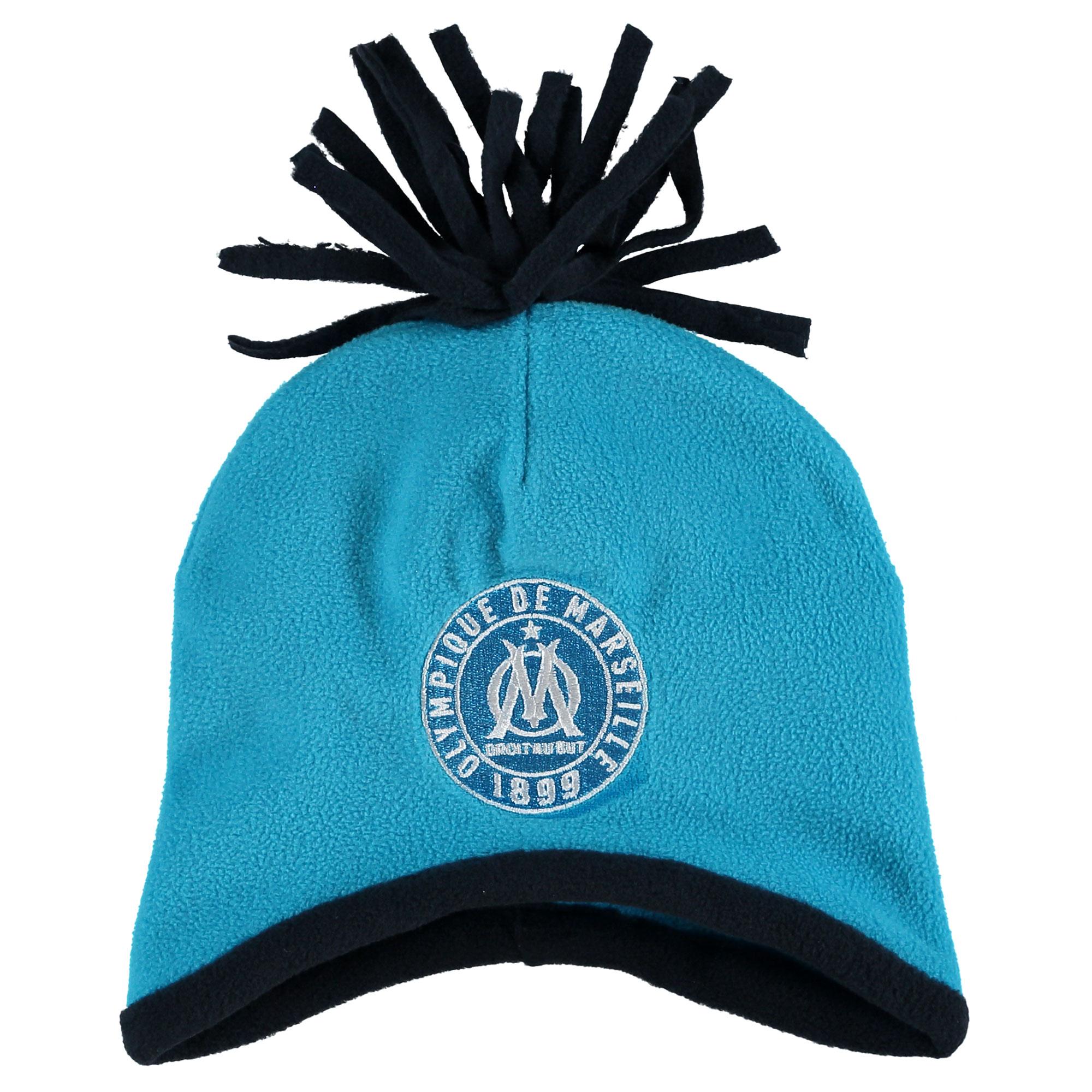 """Image of """"Bonnet à pompon Olympique de Marseille - Bleu - Bébé"""""""