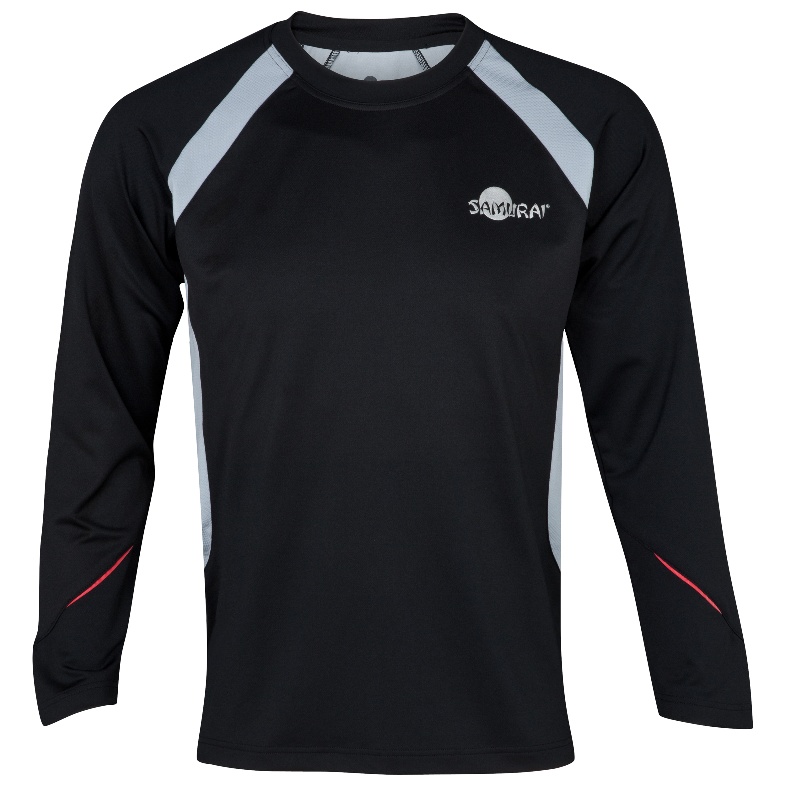 Samurai Rugby Elite Long Sleeved T-Shirt - Black/Mist