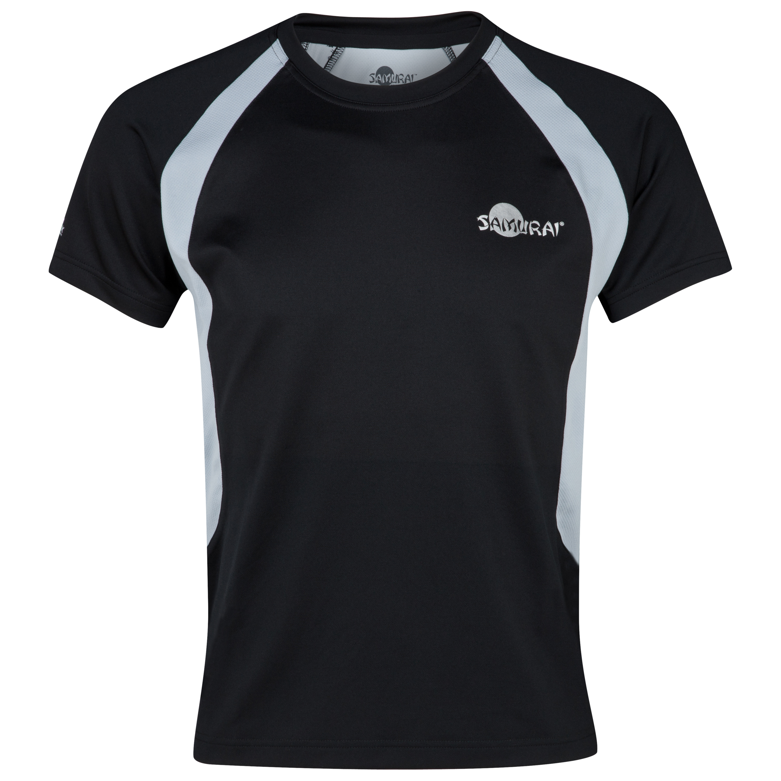 Samurai Rugby Elite T-Shirt - Black/Mist