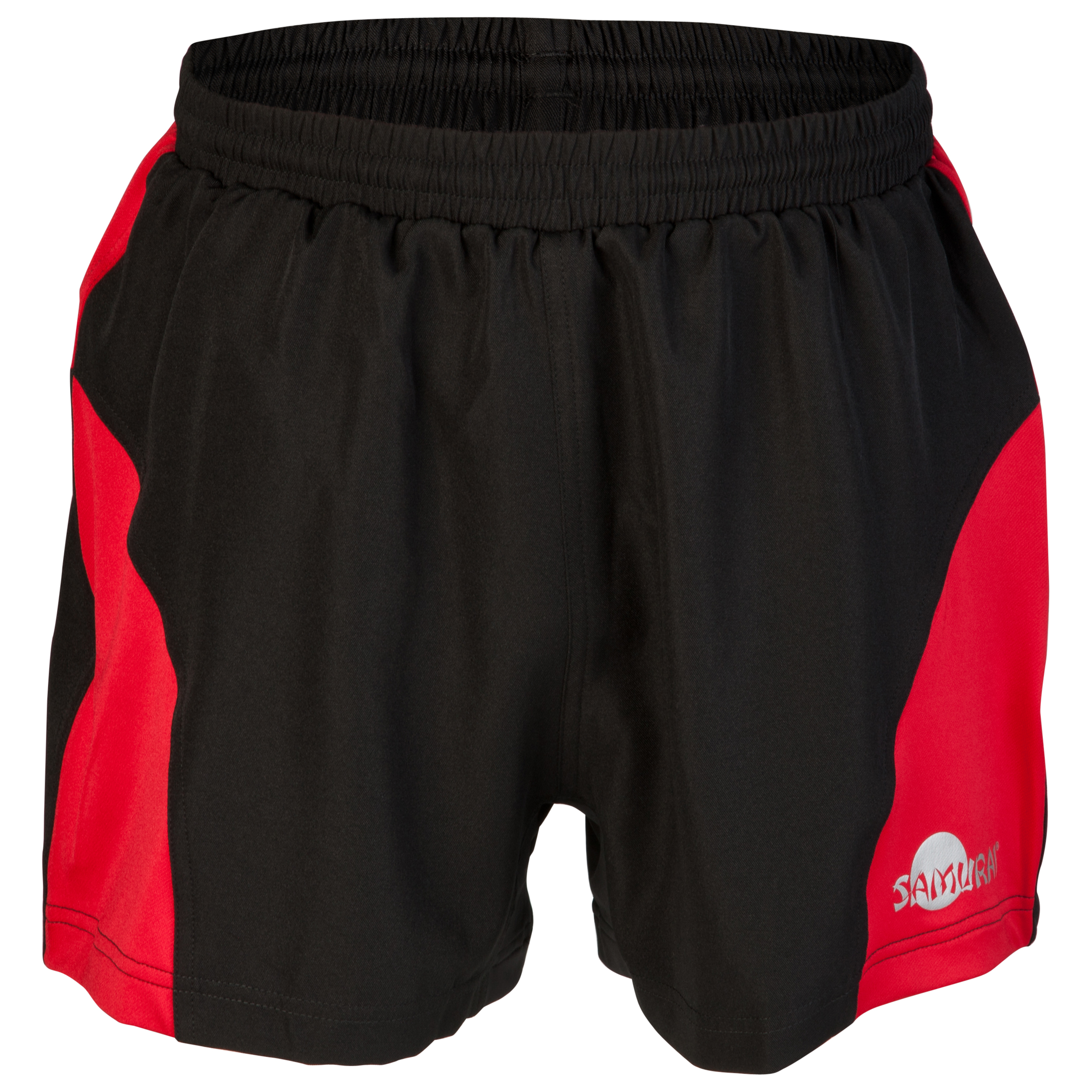 Samurai Rugby Elite Shorts - Black/Red