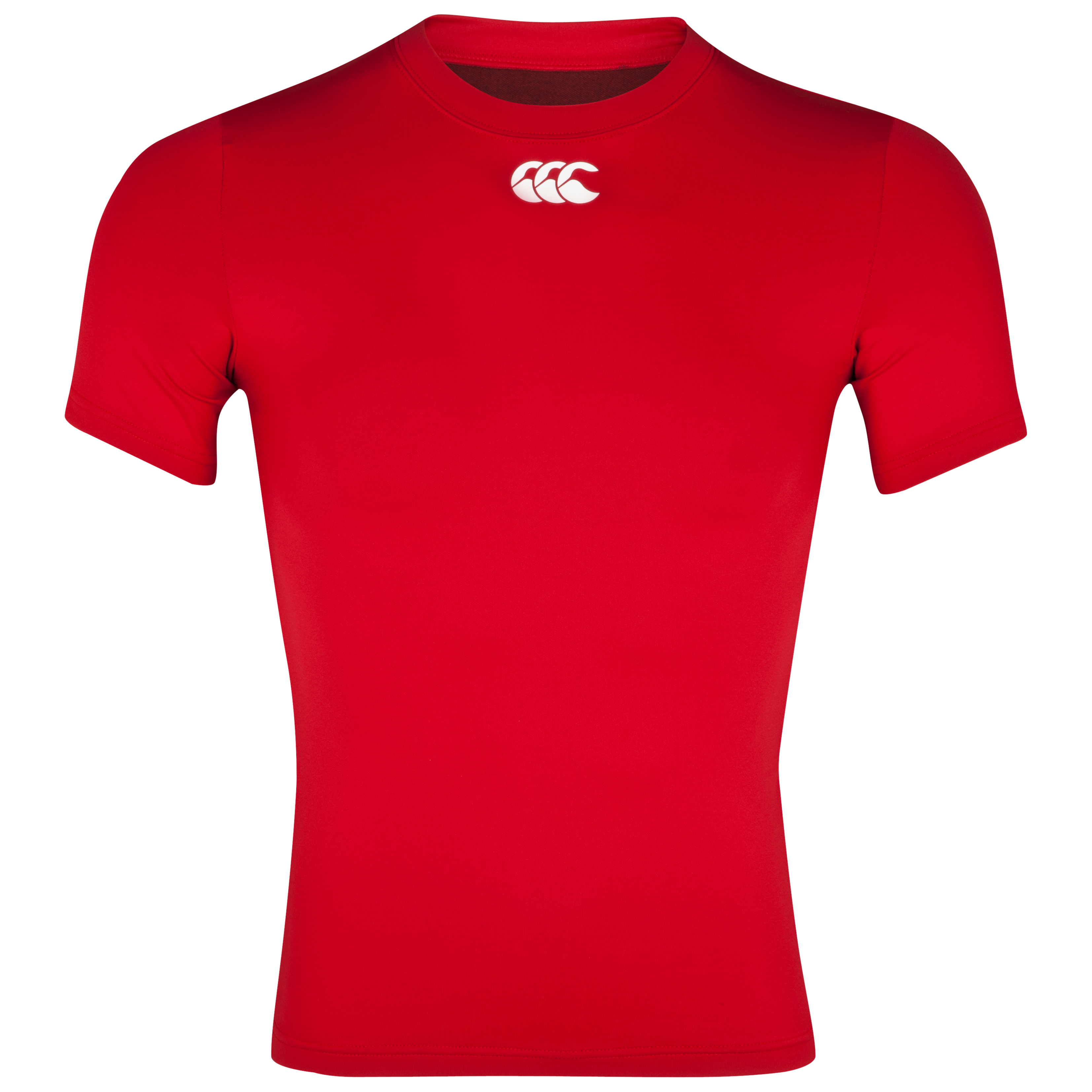 Canterbury Cold Baselayer Top - Short Sleeve - Flag Red