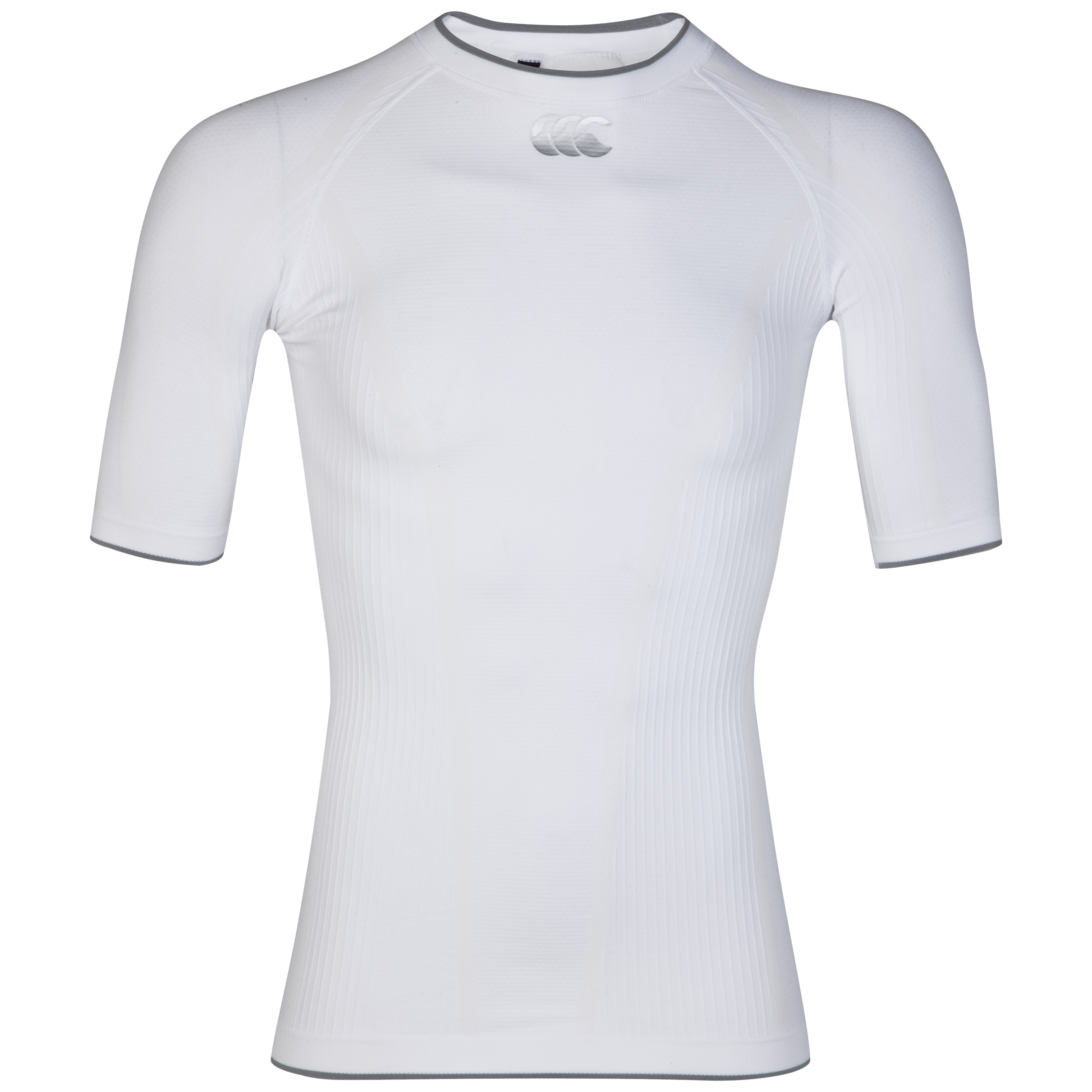 Canterbury iD Baselayer Top - Short Sleeve - White