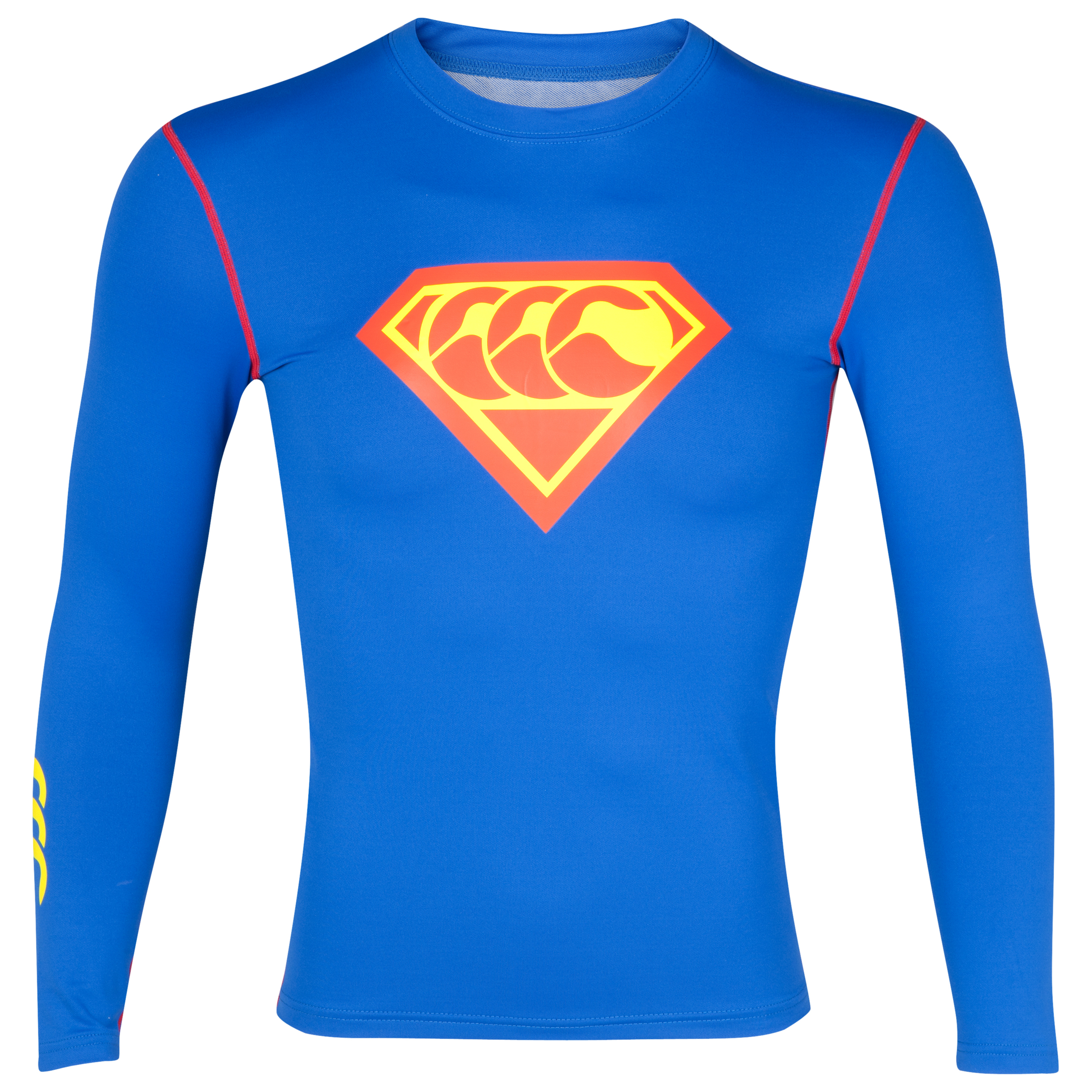 Canterbury Super Cold Baselayer Top - Long Sleeve - Olympian Blue