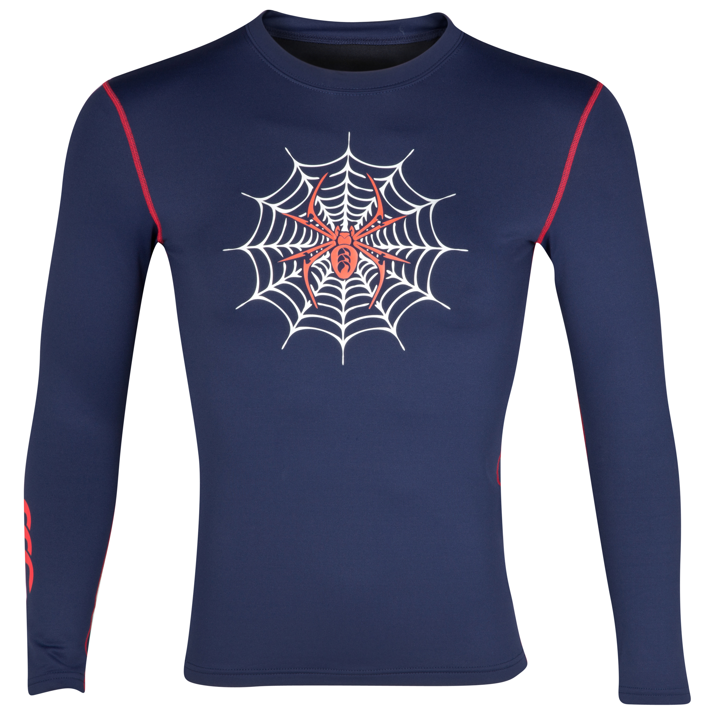 Canterbury Spider Cold Baselayer Top - Long Sleeve - Navy