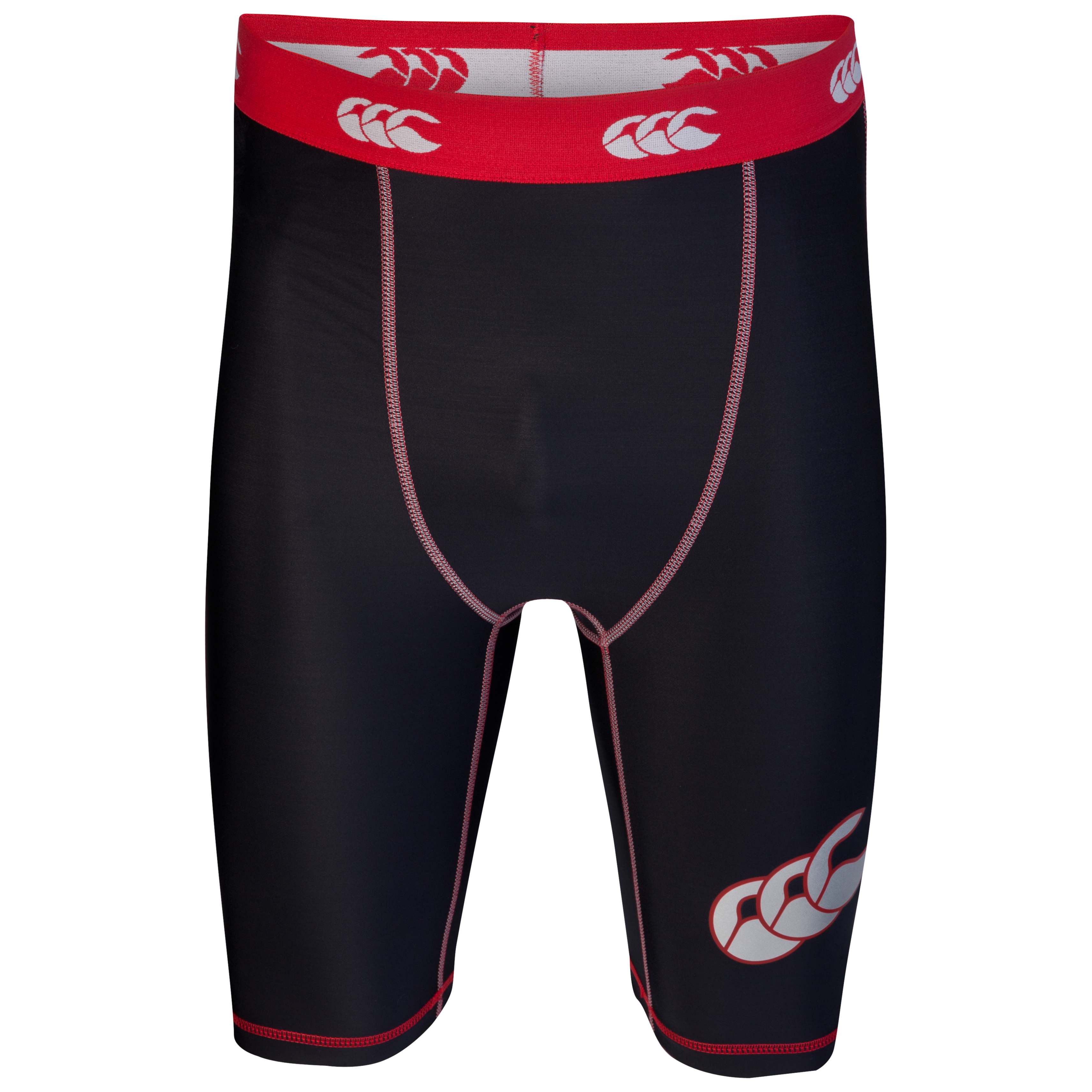 Canterbury Mercury Stability Compression Baselayer Short - Black