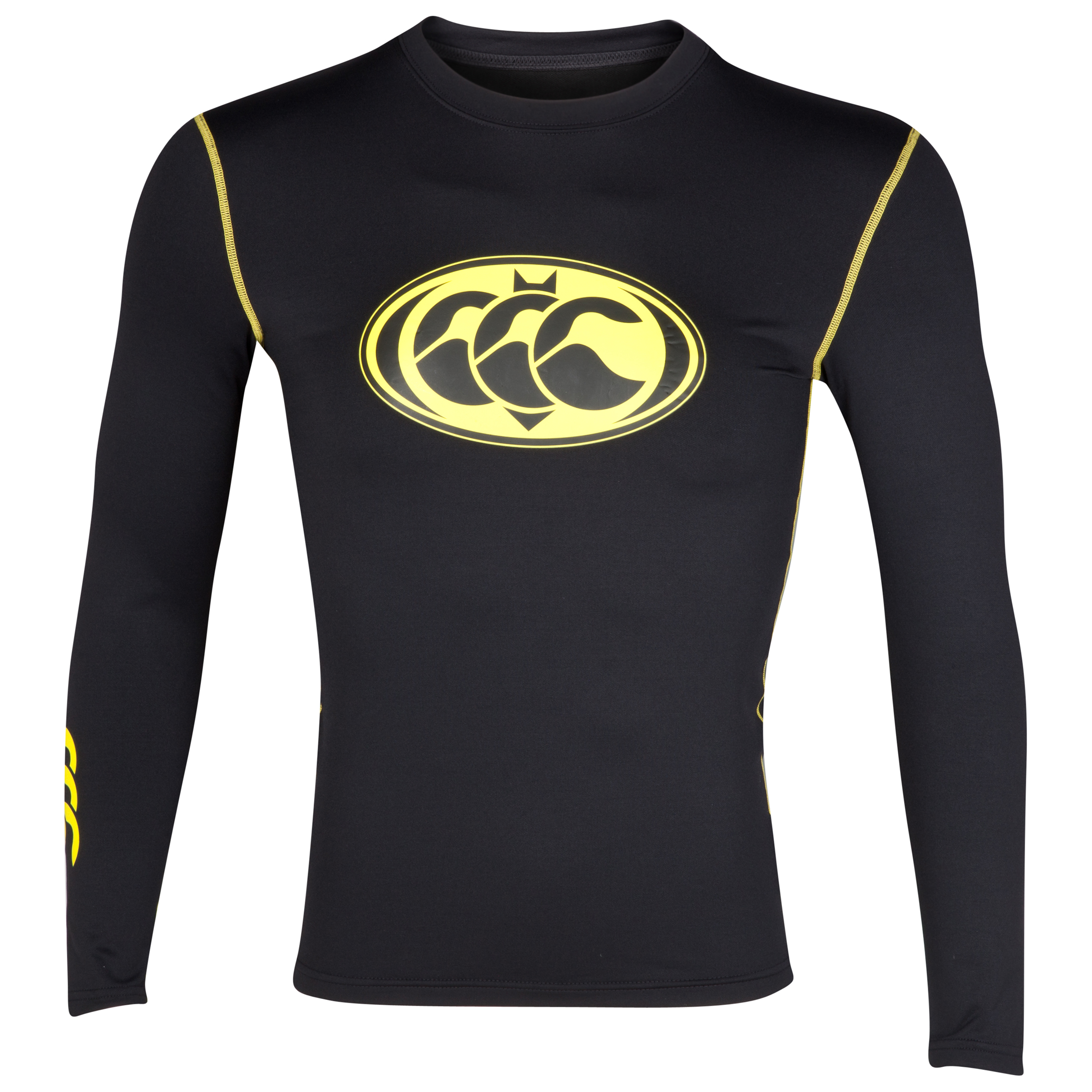 Canterbury Bat Cold Baselayer Top - Black - Long Sleeve - Kids