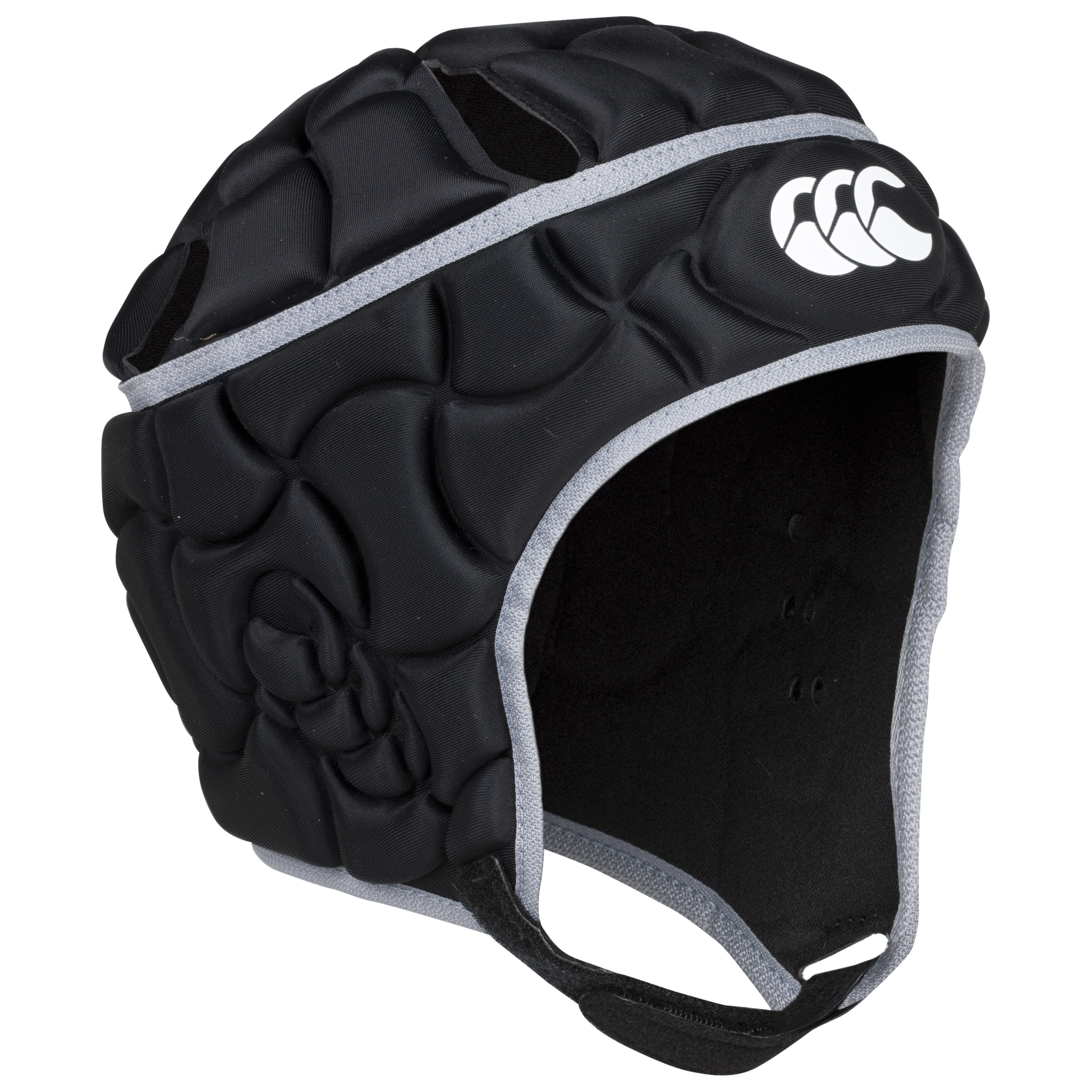 Canterbury Club Plus Headguard - Black/Silver - Kids