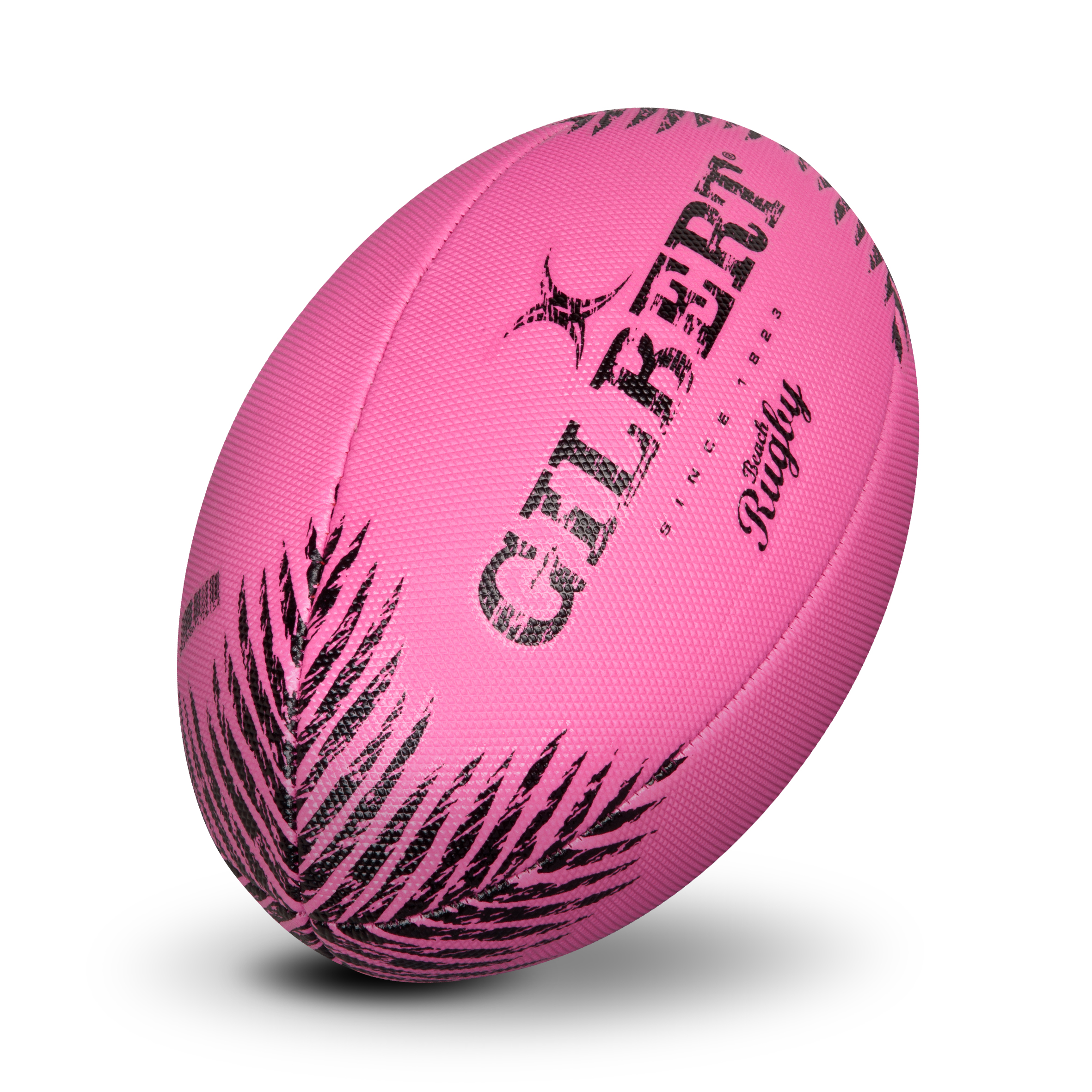 Gilbert Beach Rugby Ball-Pink - Size 5