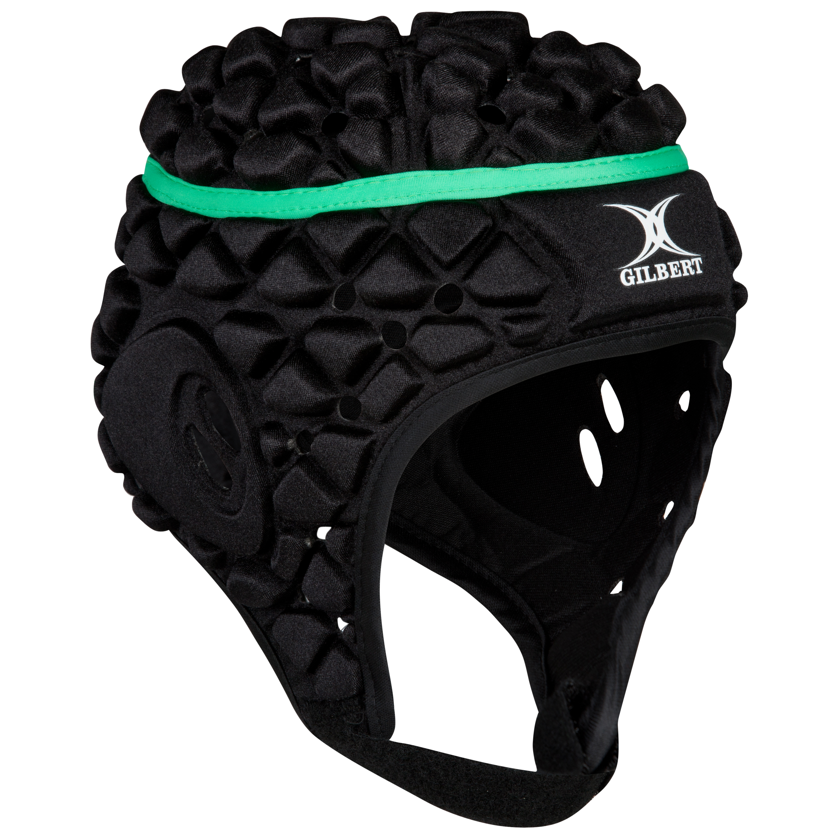 Gilbert Xact Rugby Headguard-Black