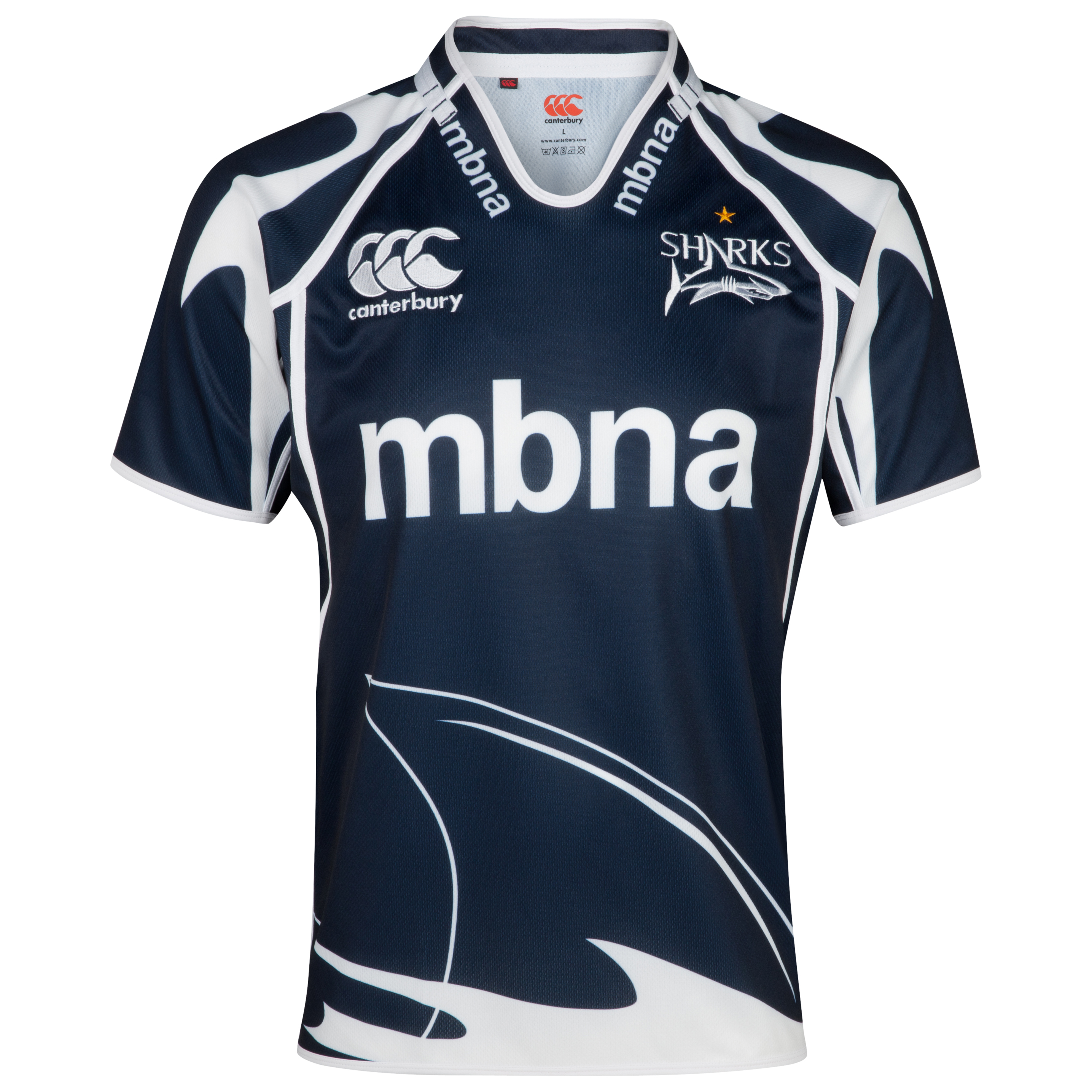 Sale Sharks Home Pro Rugby Shirt 2012/14