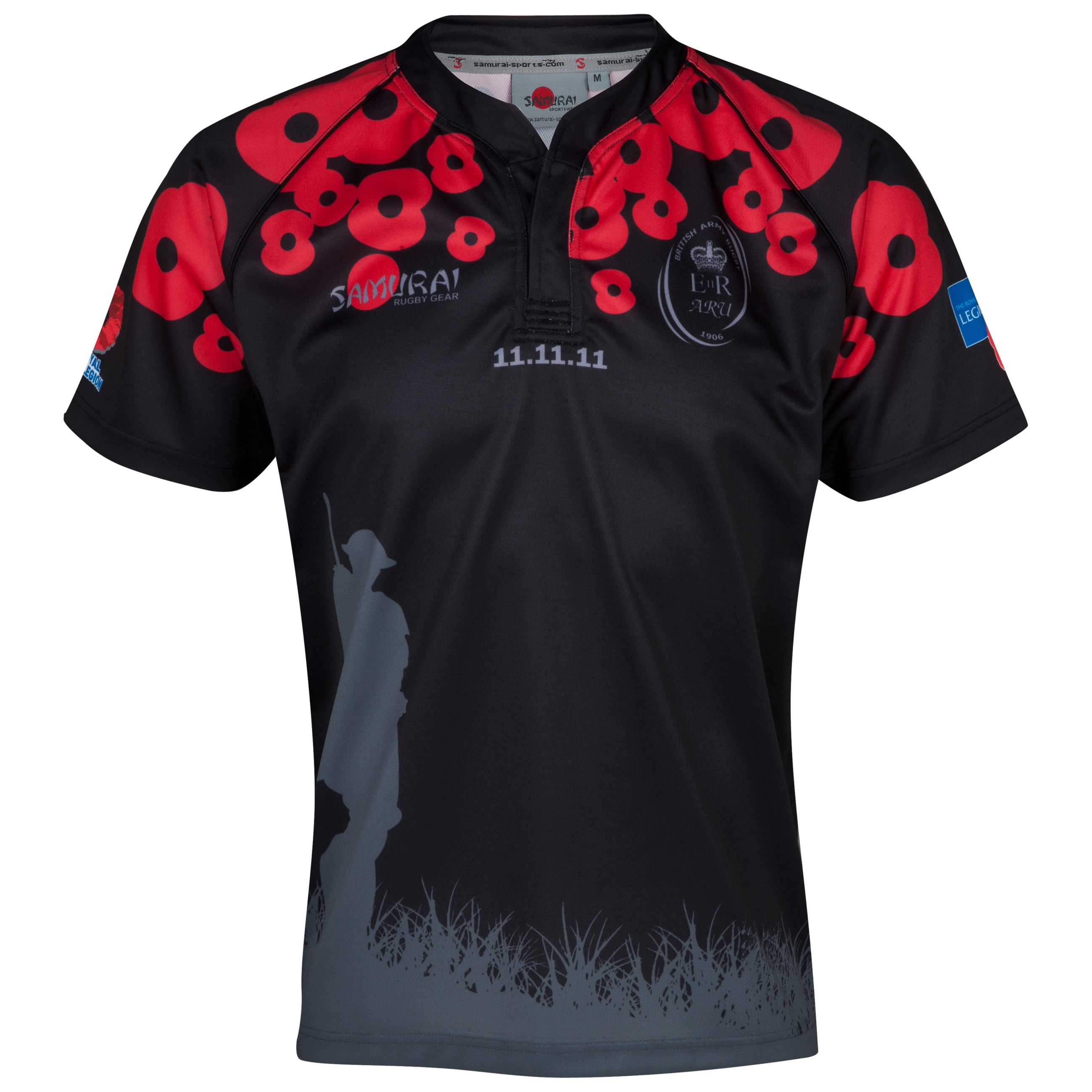 Army Rugby Union Lone Soldier Shirt 2012